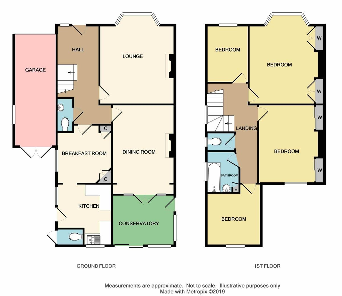 4 bed house for sale in Birchwood Avenue, Sidcup, DA14 - Property Floorplan