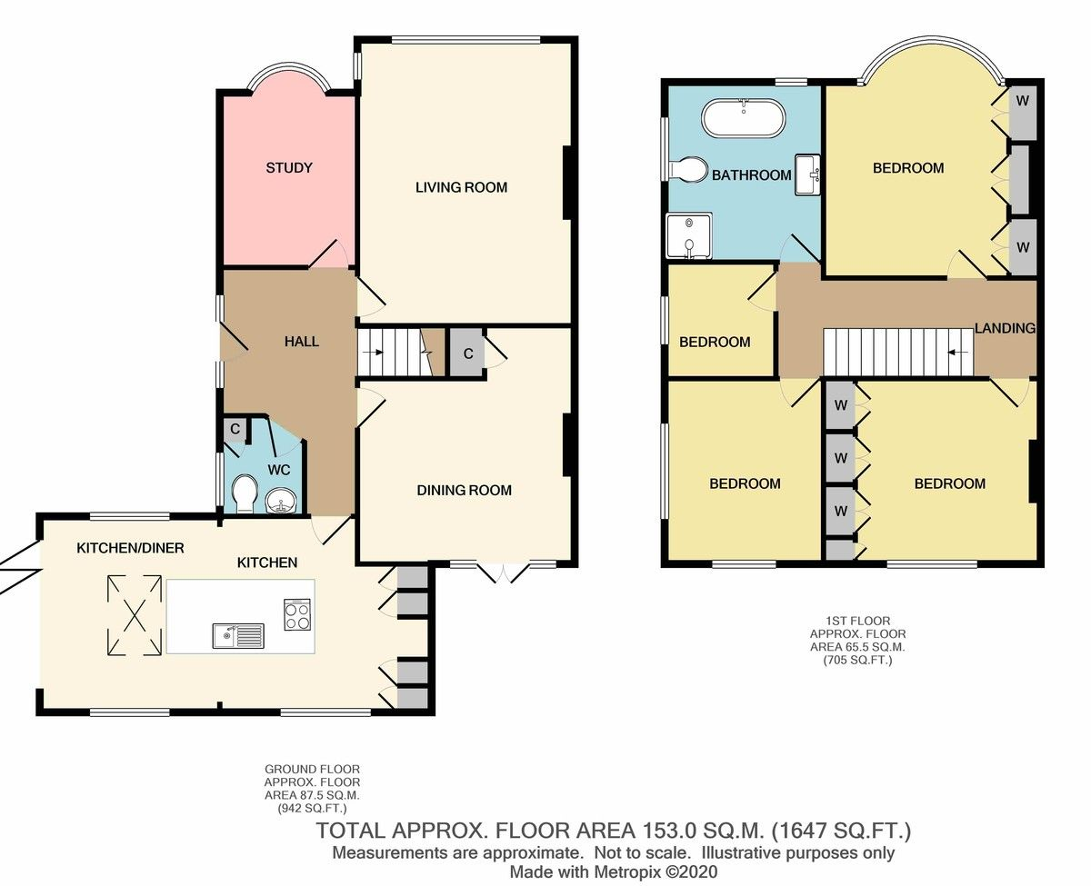 5 bed house for sale in Bexley Lane, Sidcup, DA14 - Property Floorplan
