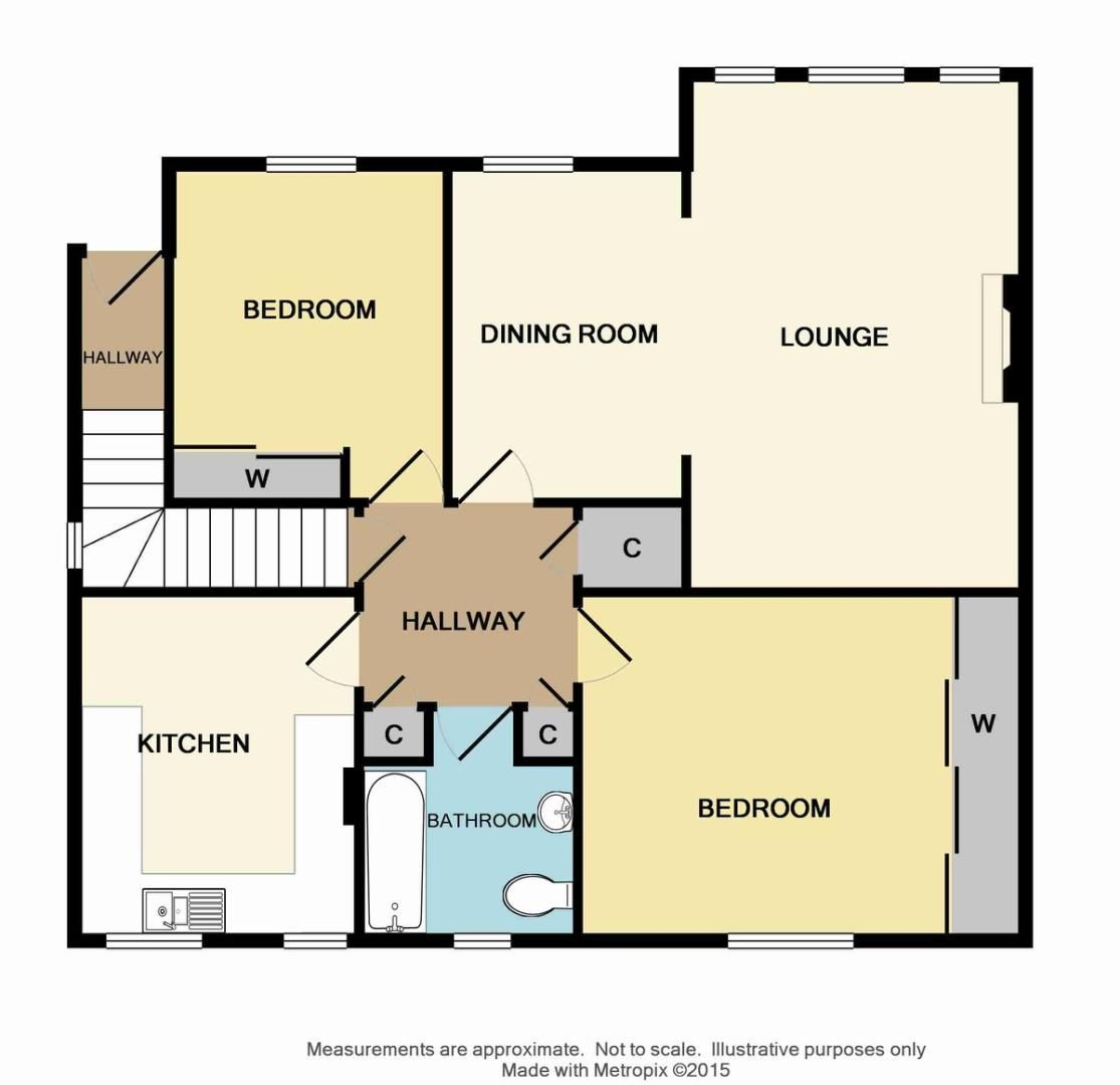 2 bed flat for sale in Sidcup Hill Gardens, Sidcup, DA14 - Property Floorplan