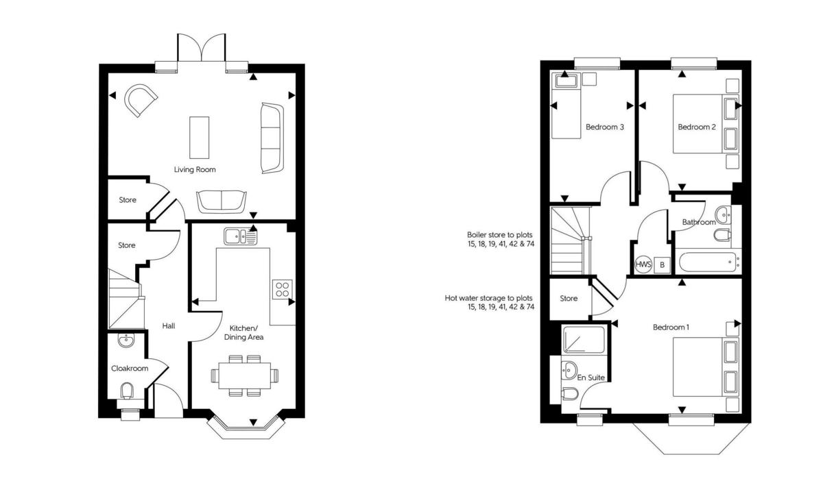 3 bed house for sale in Sun Marsh Way, Gravesend, DA12 - Property Floorplan