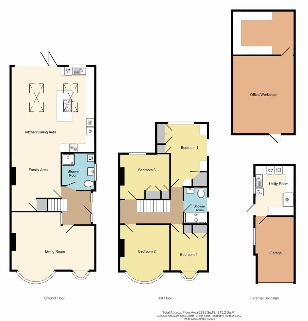 4 bed house for sale in Hurst Road, Sidcup, DA15 - Property Floorplan
