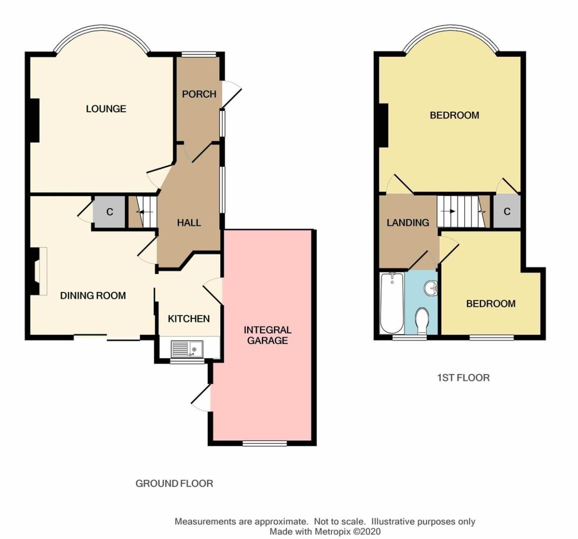 2 bed house for sale in Harland Avenue, Sidcup, DA15 - Property Floorplan