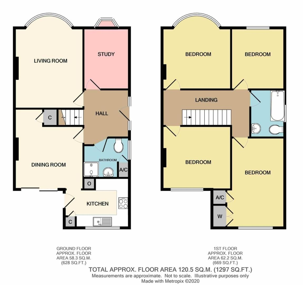 5 bed house for sale in Chaucer Road, Sidcup, DA15 - Property Floorplan