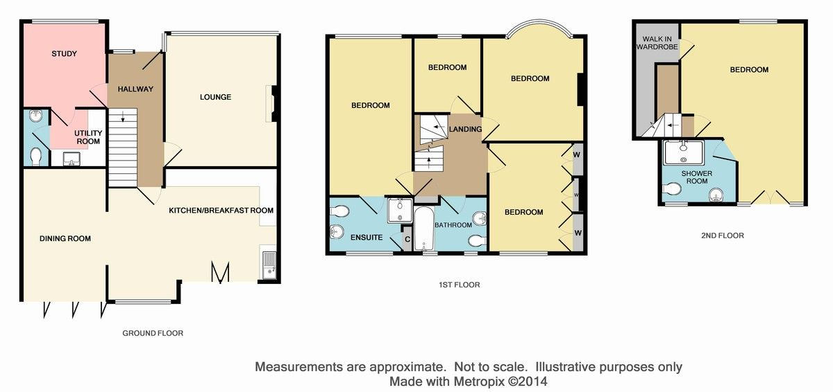 5 bed house for sale in Craybrooke Road, Sidcup, DA14 - Property Floorplan