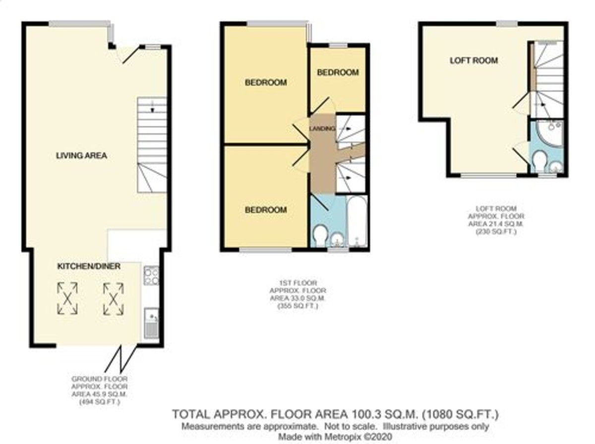 4 bed house for sale in Wellington Avenue, Sidcup, DA15 - Property Floorplan