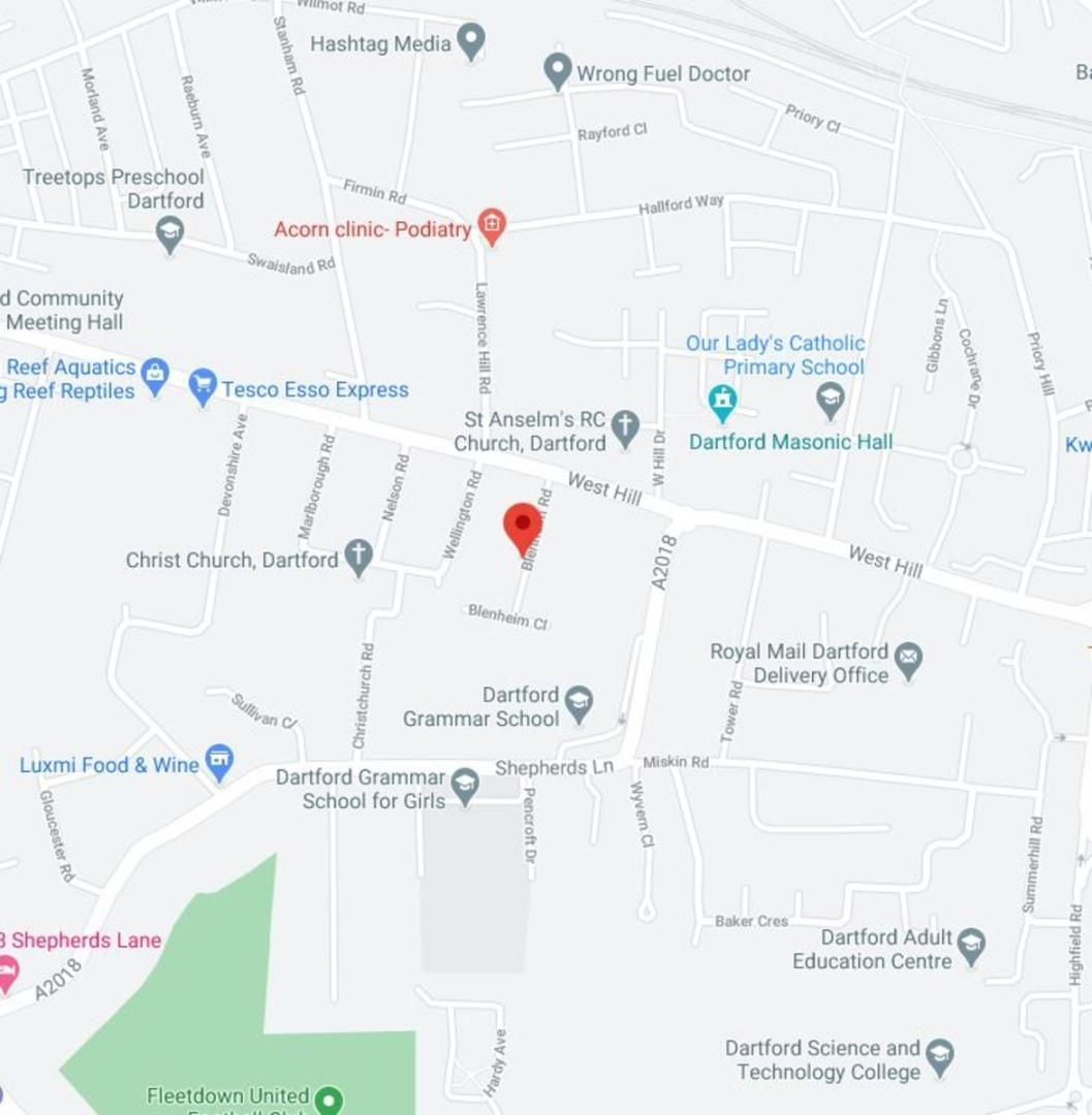 2 bed house to rent in Blenheim Road, Dartford, DA1 - Property Floorplan
