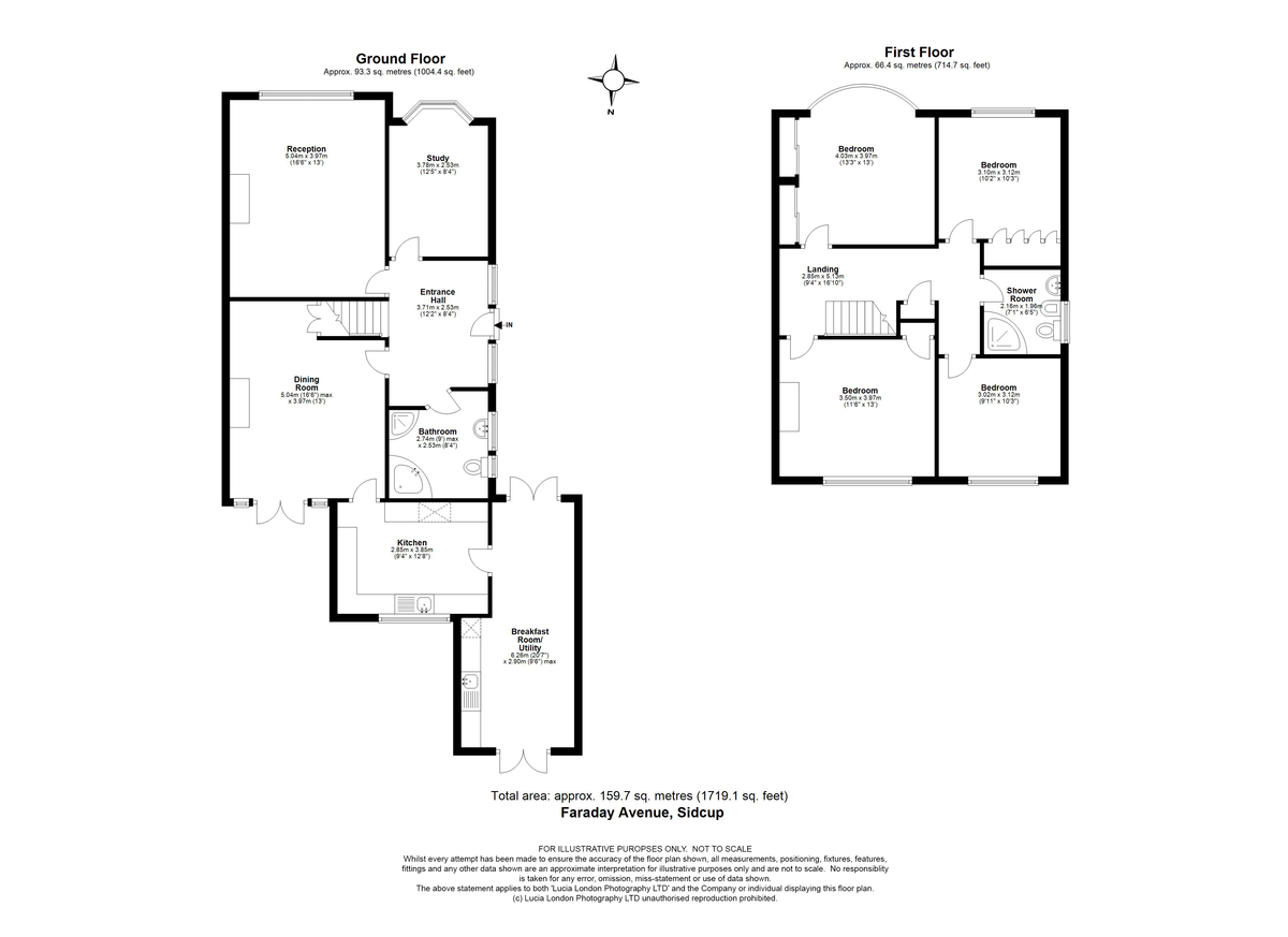 5 bed house for sale in Faraday Avenue, Sidcup, DA14 - Property Floorplan