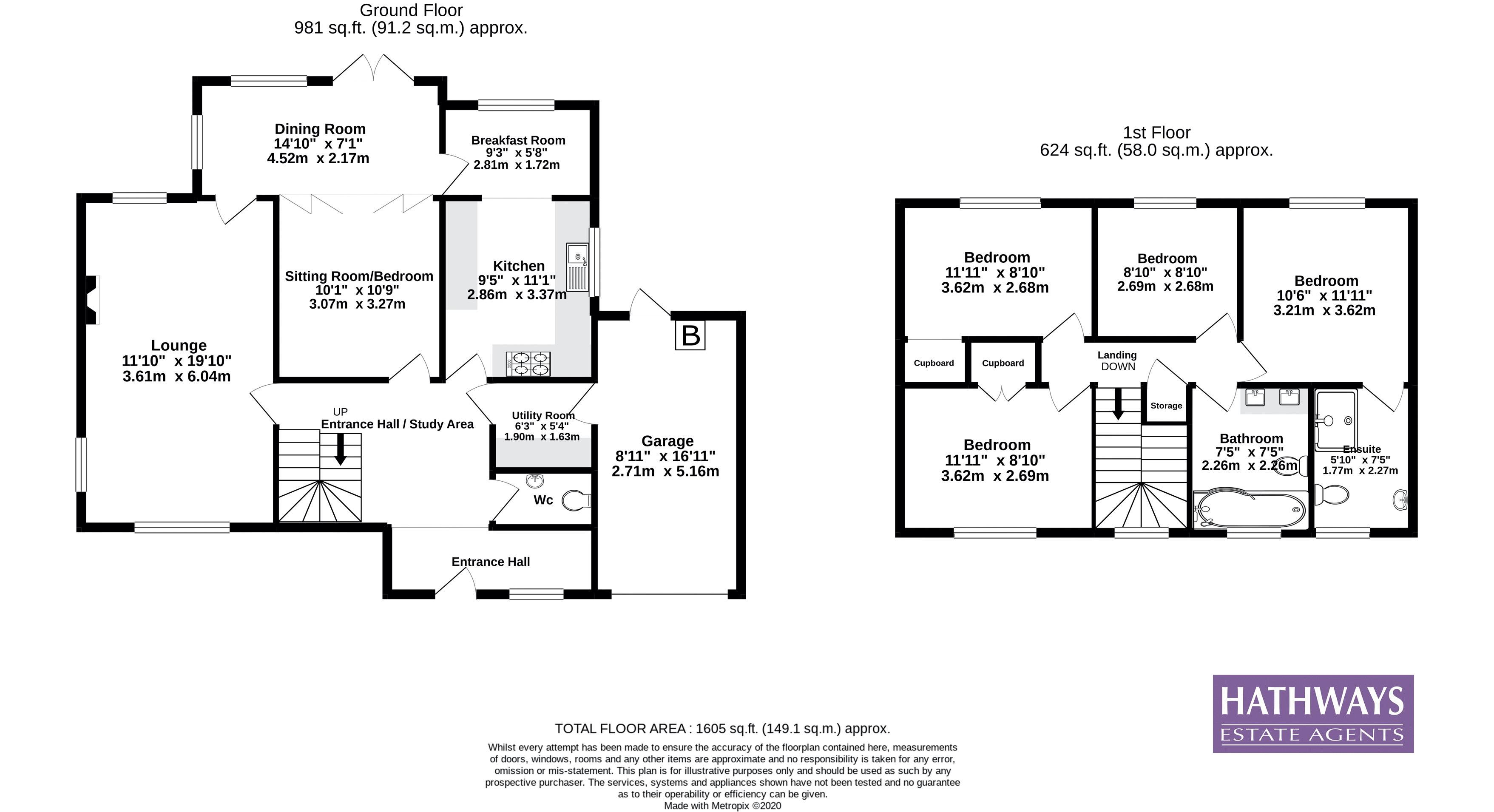 5 bed house for sale in Trinity View - Property Floorplan
