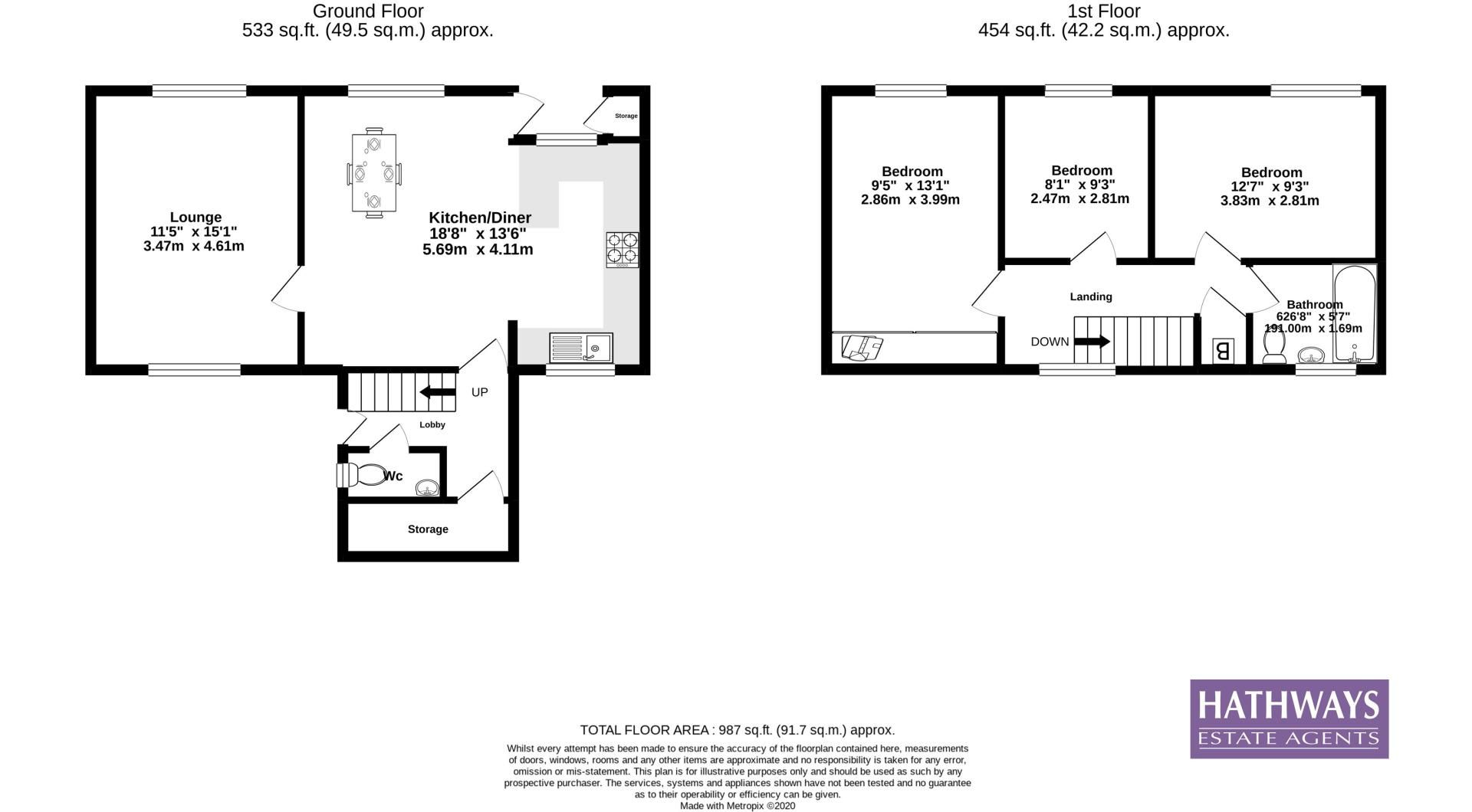 3 bed house for sale in The Haldens 23