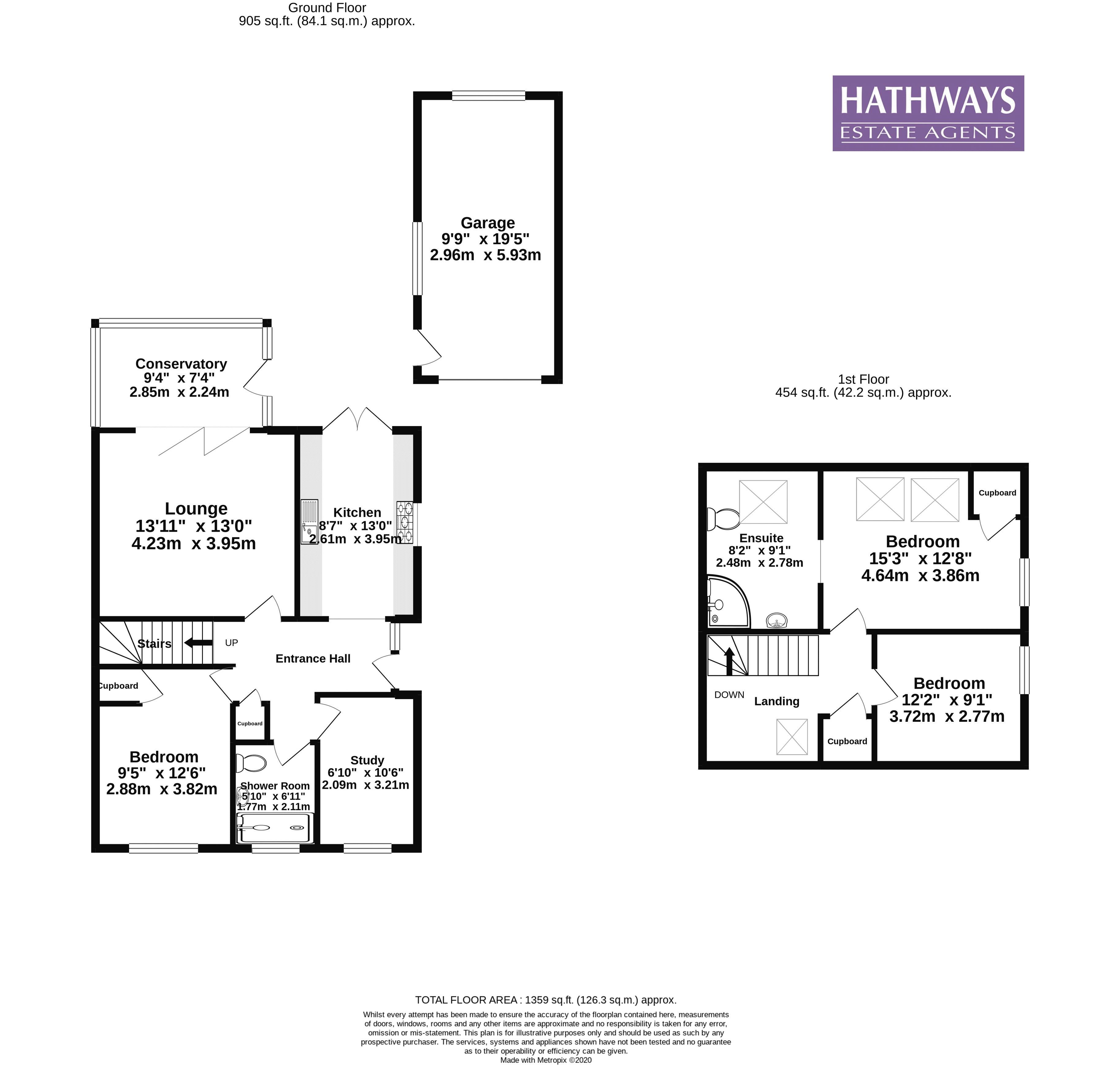 4 bed house for sale in Highfield Road - Property Floorplan