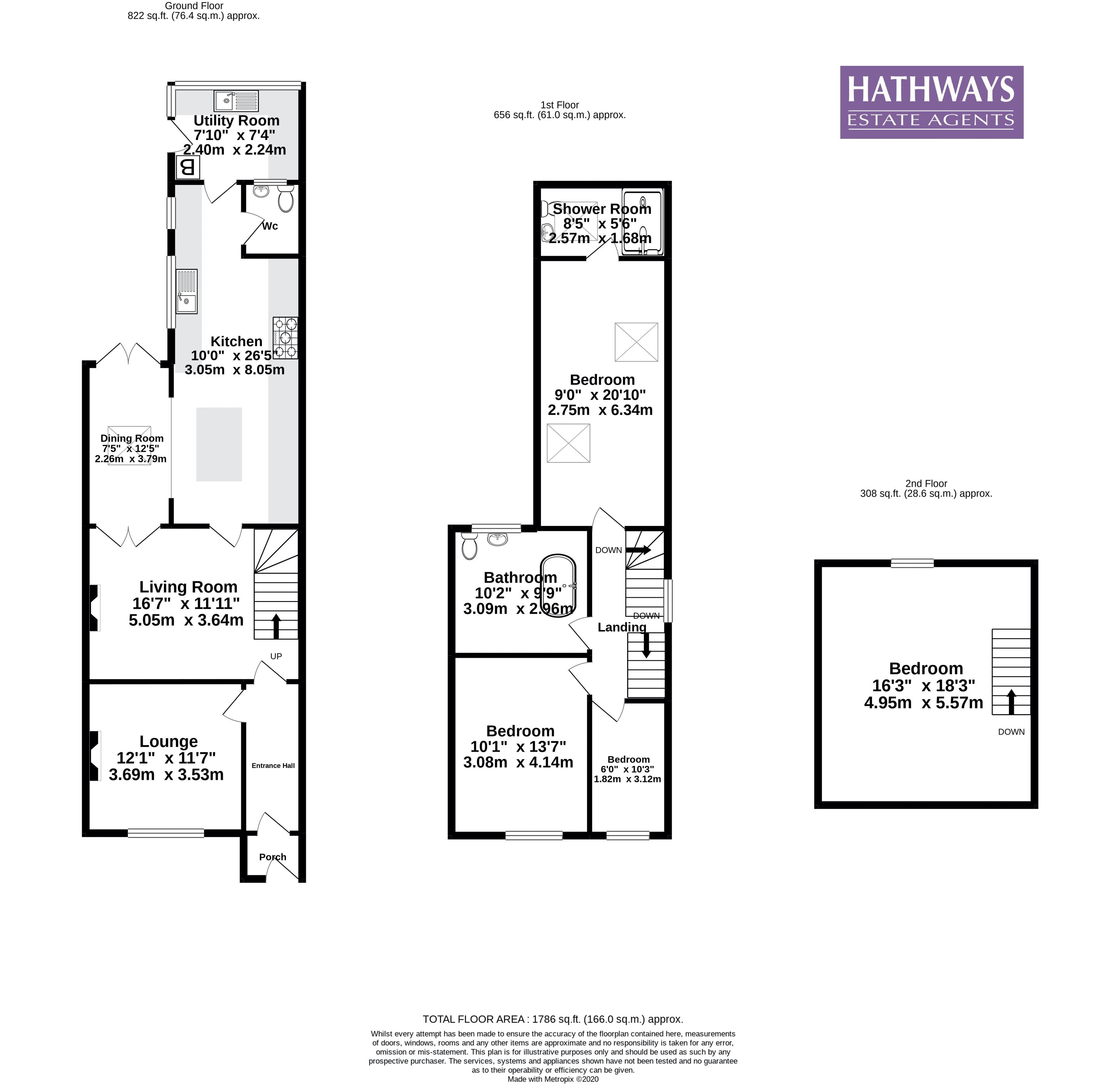 4 bed house for sale in High Street - Property Floorplan