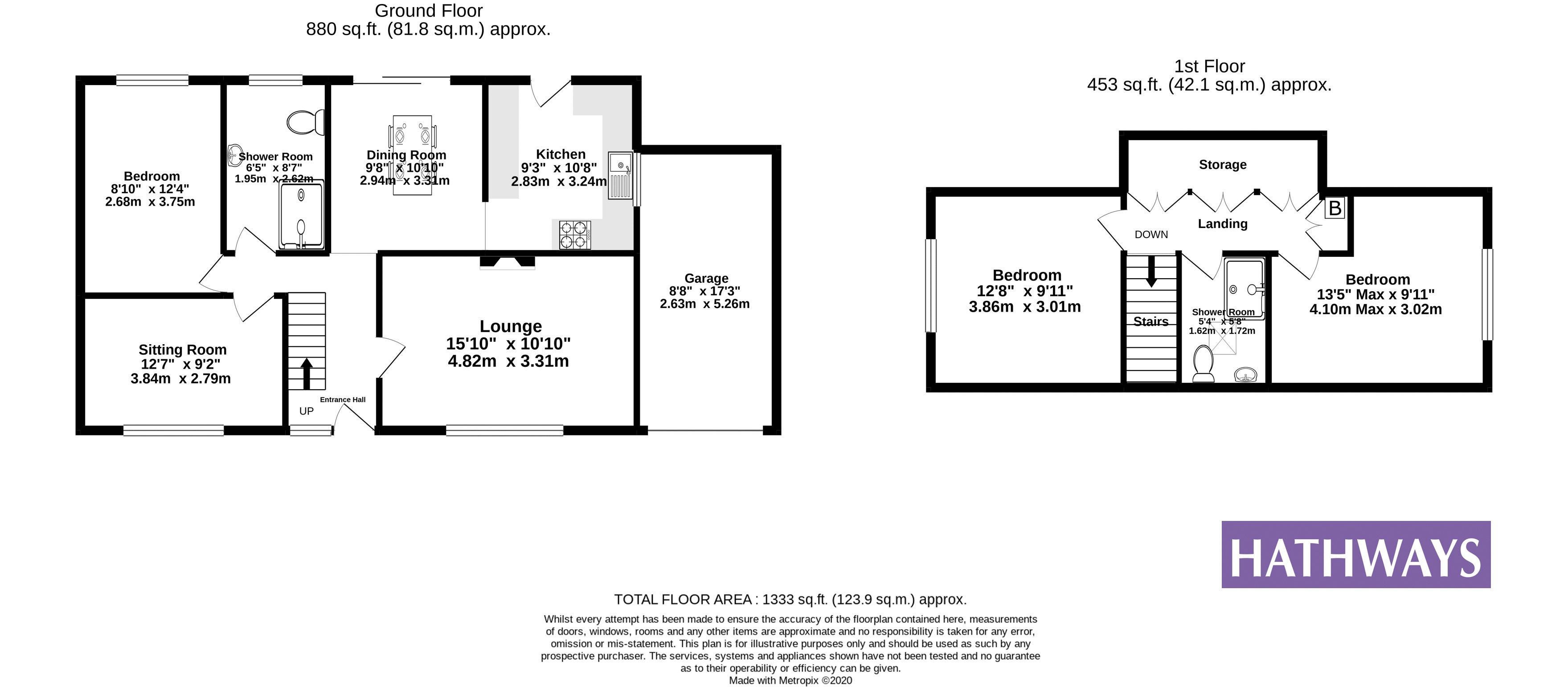 4 bed bungalow for sale in St. Dials Road - Property Floorplan