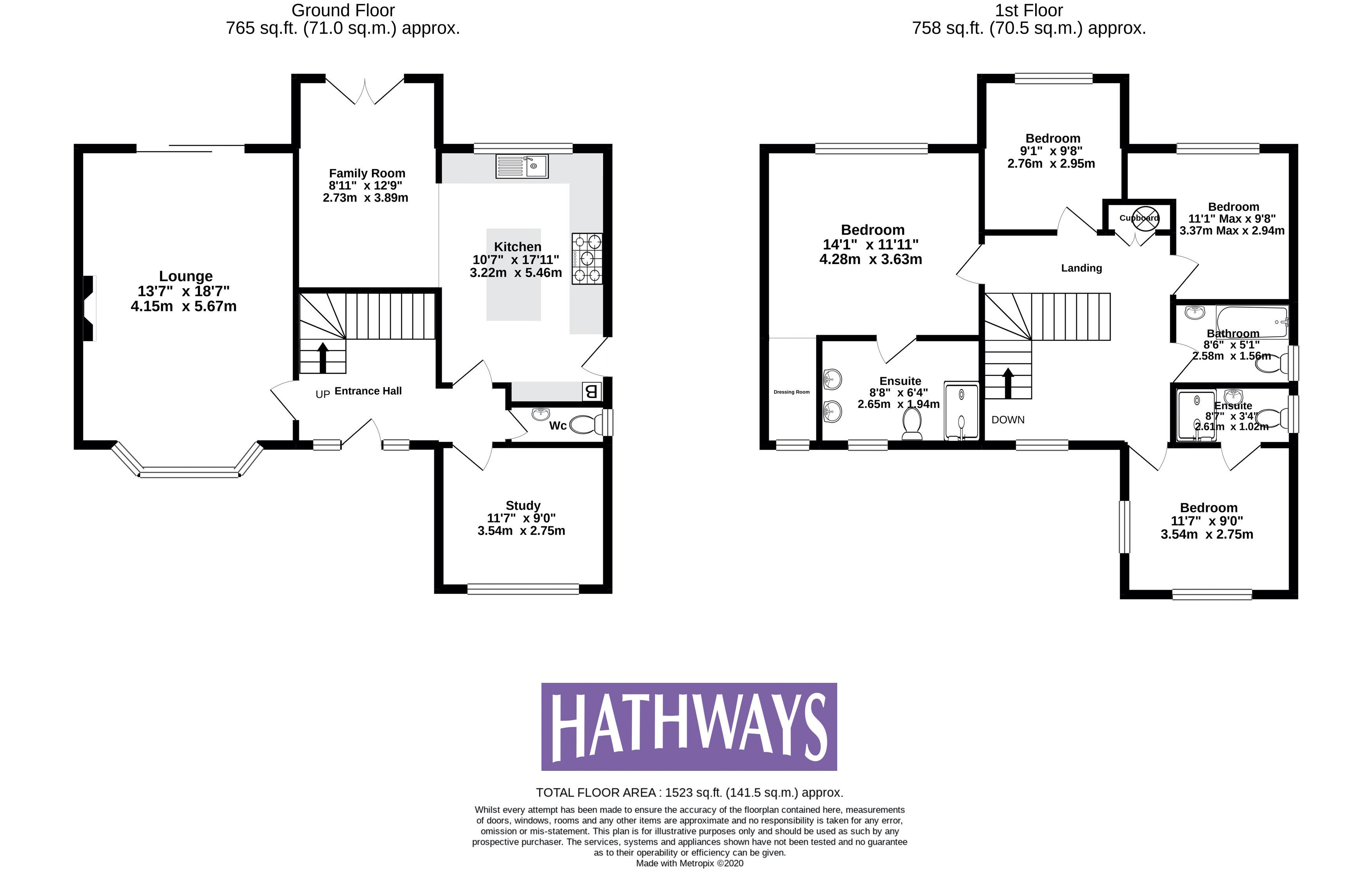 4 bed house for sale in Rosecroft Drive - Property Floorplan