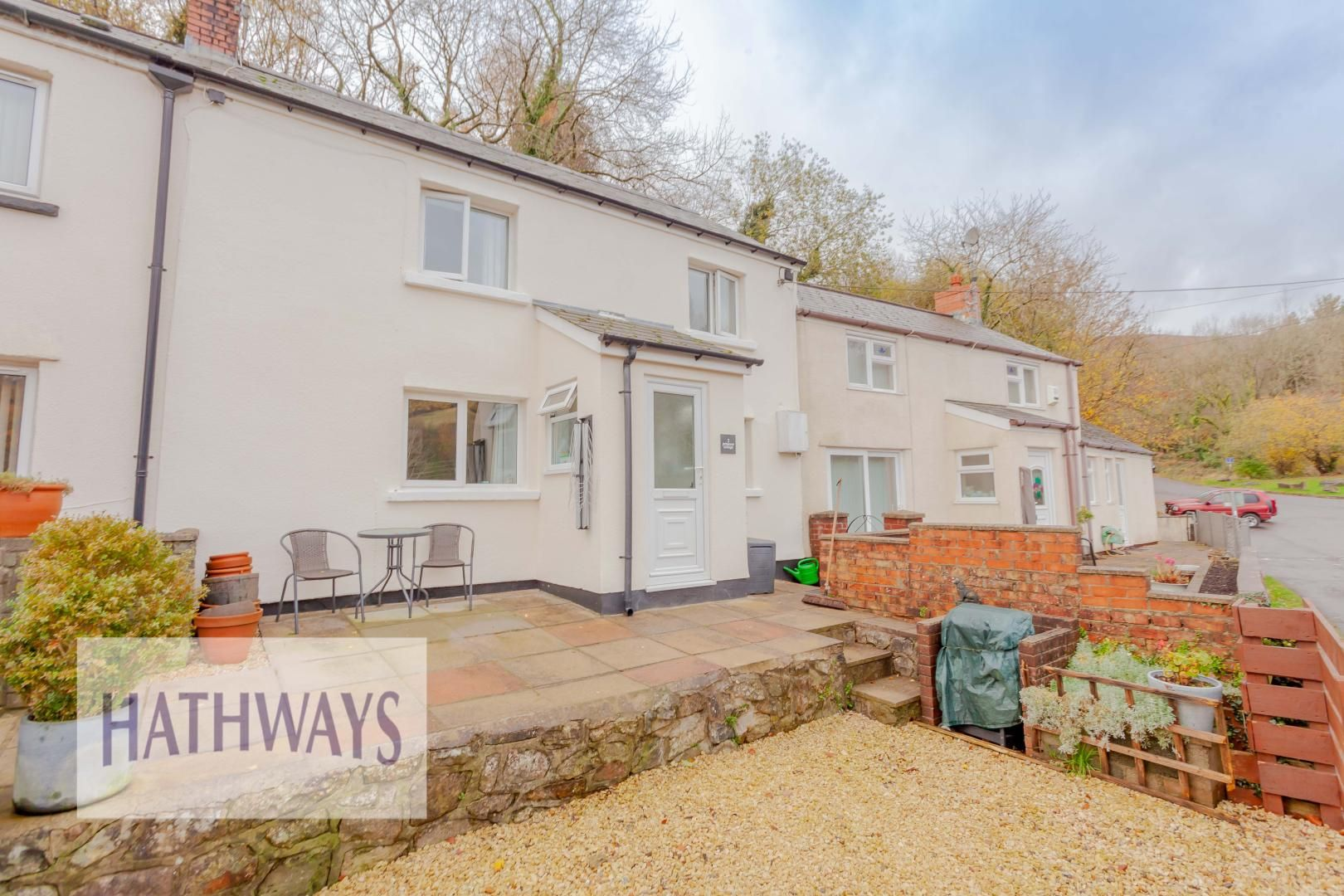 2 bed house for sale in Whittakers Row, Tram Road, NP44