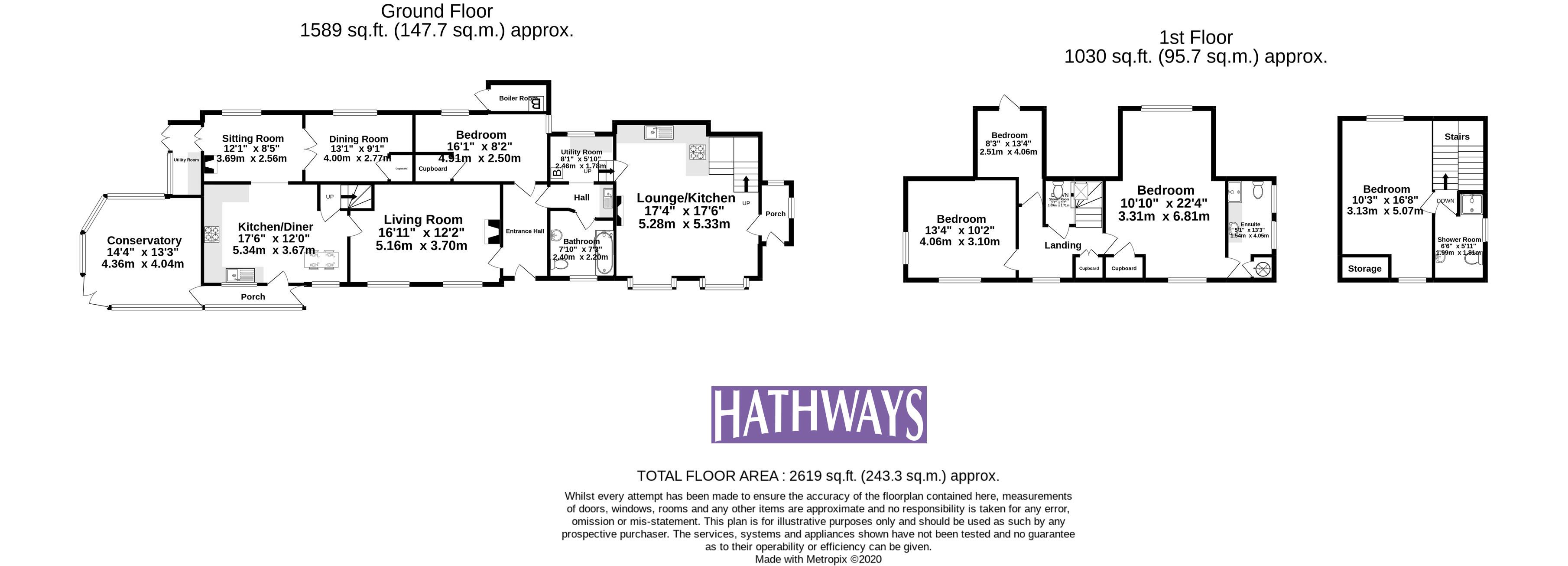 5 bed house for sale in Old Abergavenny Road - Property Floorplan