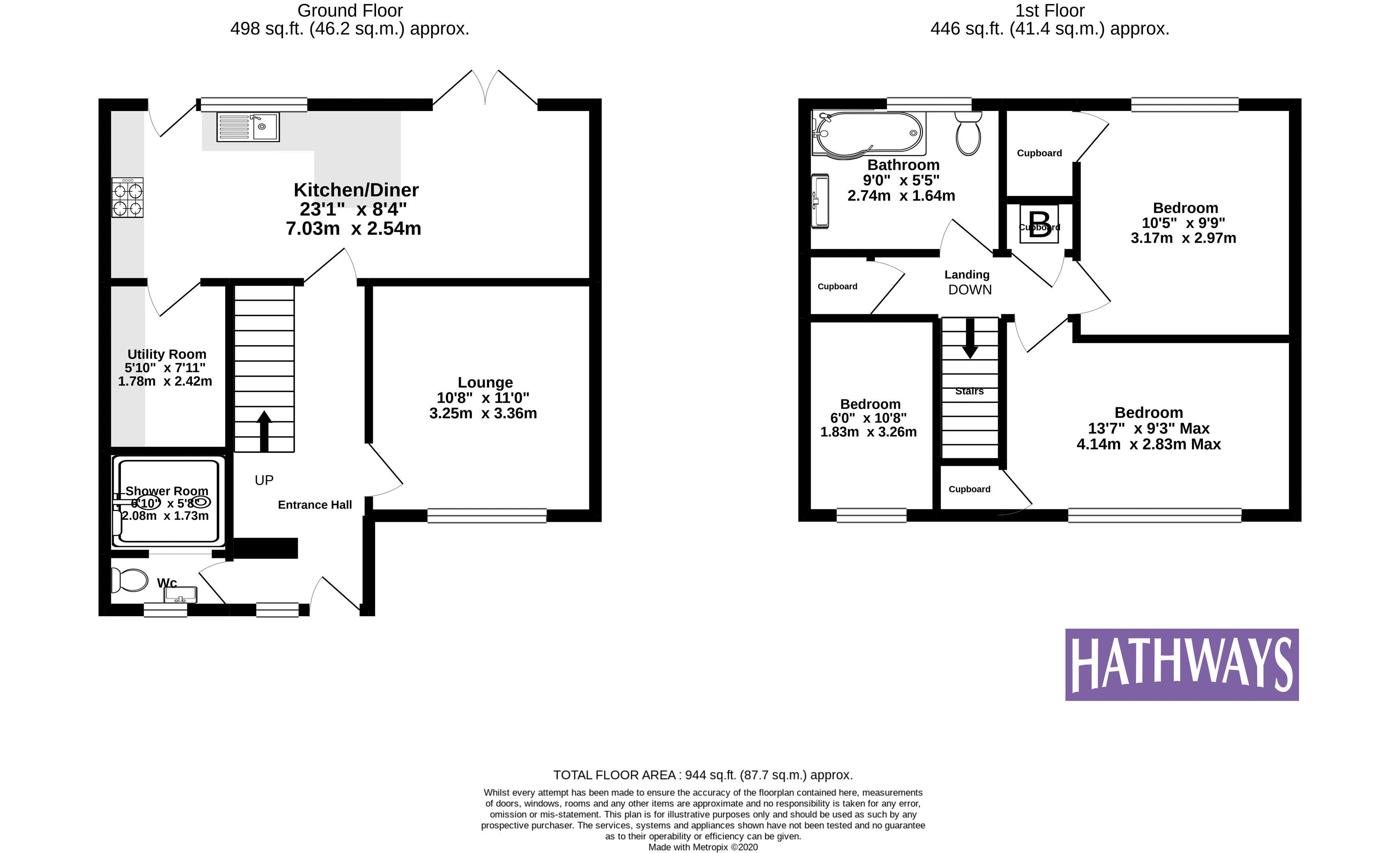 3 bed house for sale in Beaumaris Drive - Property Floorplan