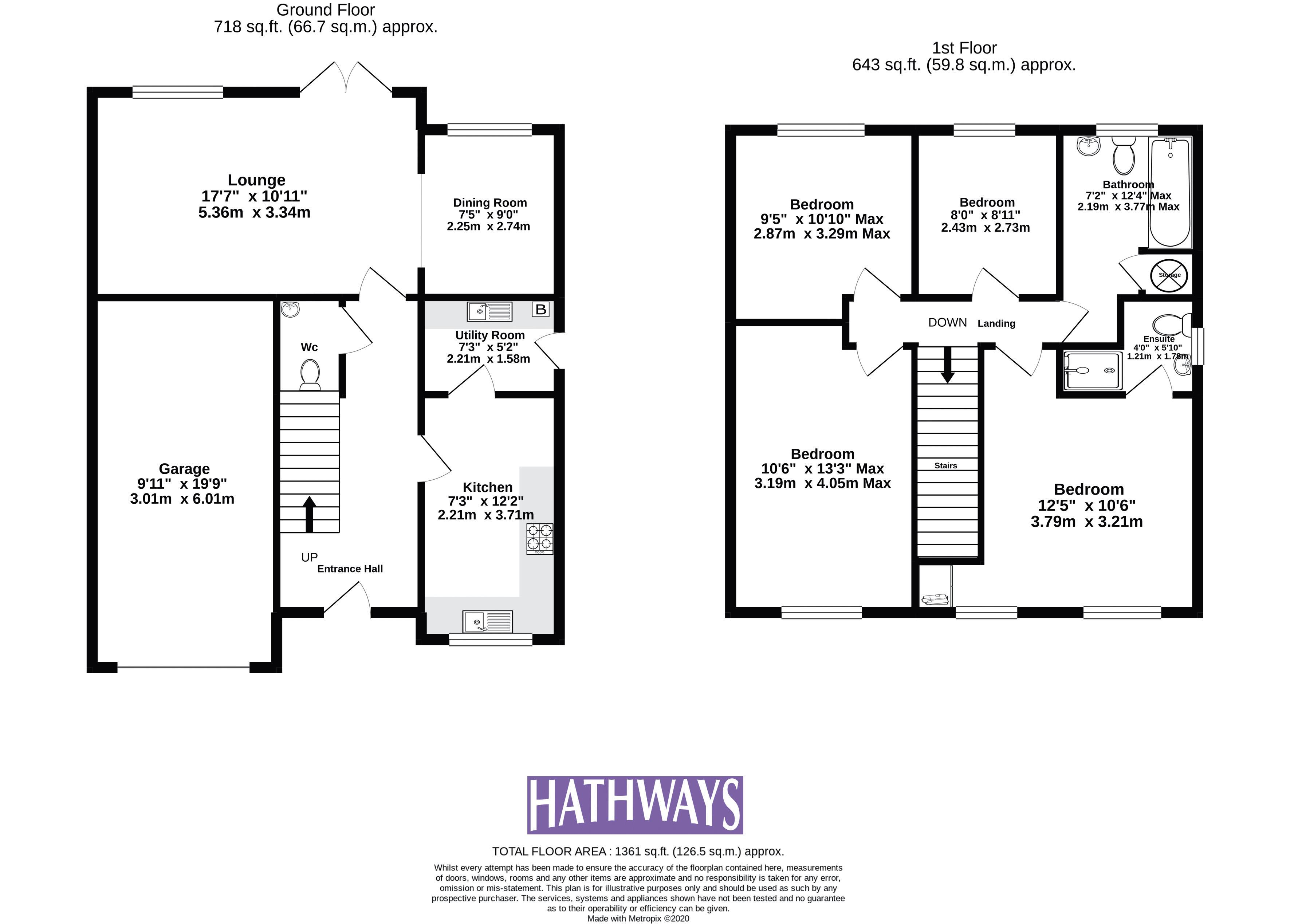 4 bed house for sale in Heol Y Groes - Property Floorplan