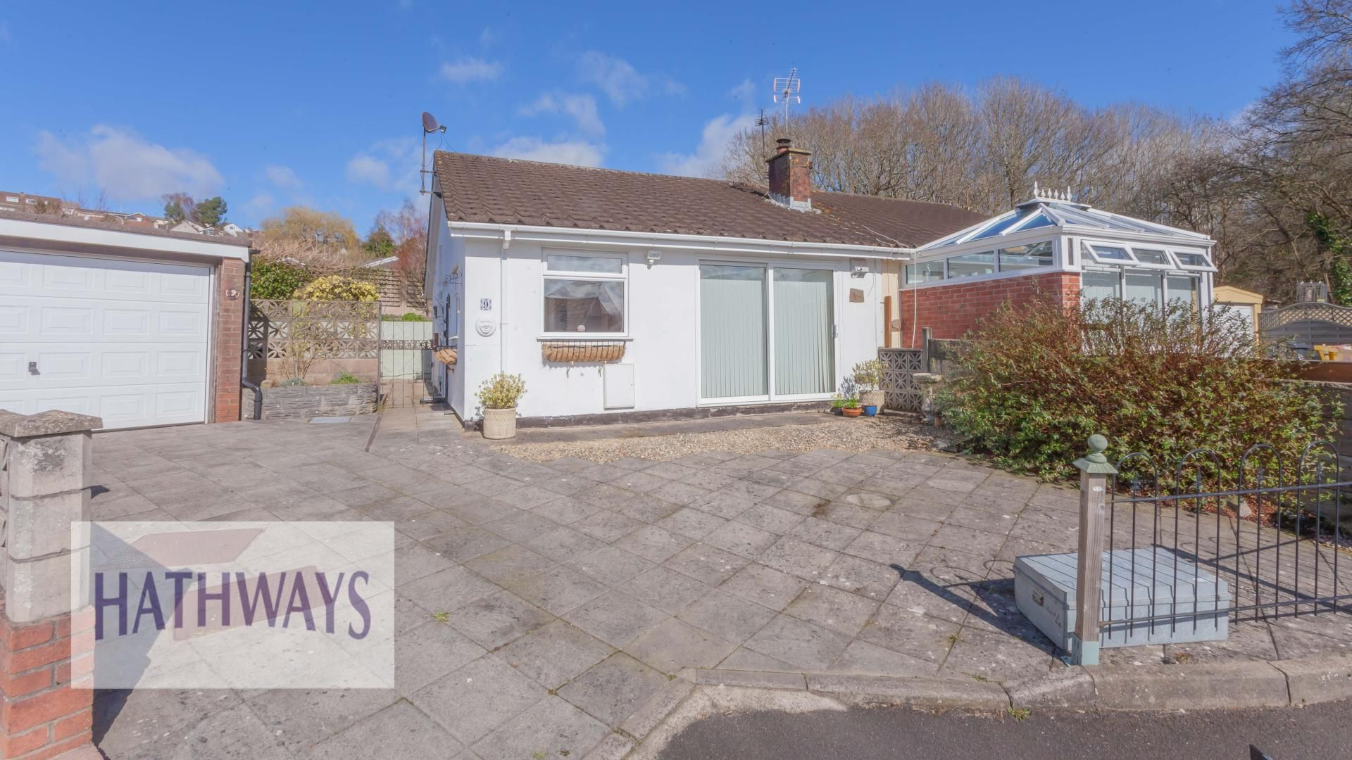 2 bed bungalow for sale in Home Farm Close, NP18