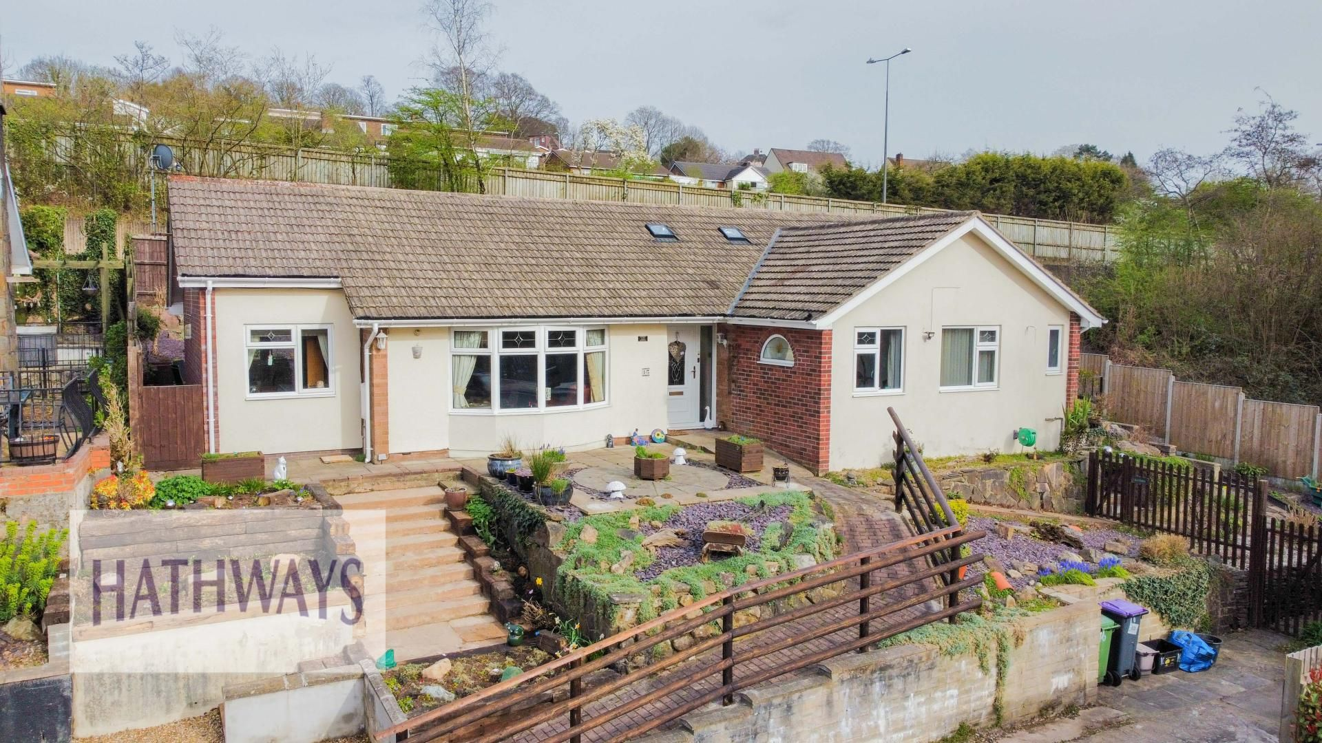 3 bed bungalow for sale in The Paddocks, NP44