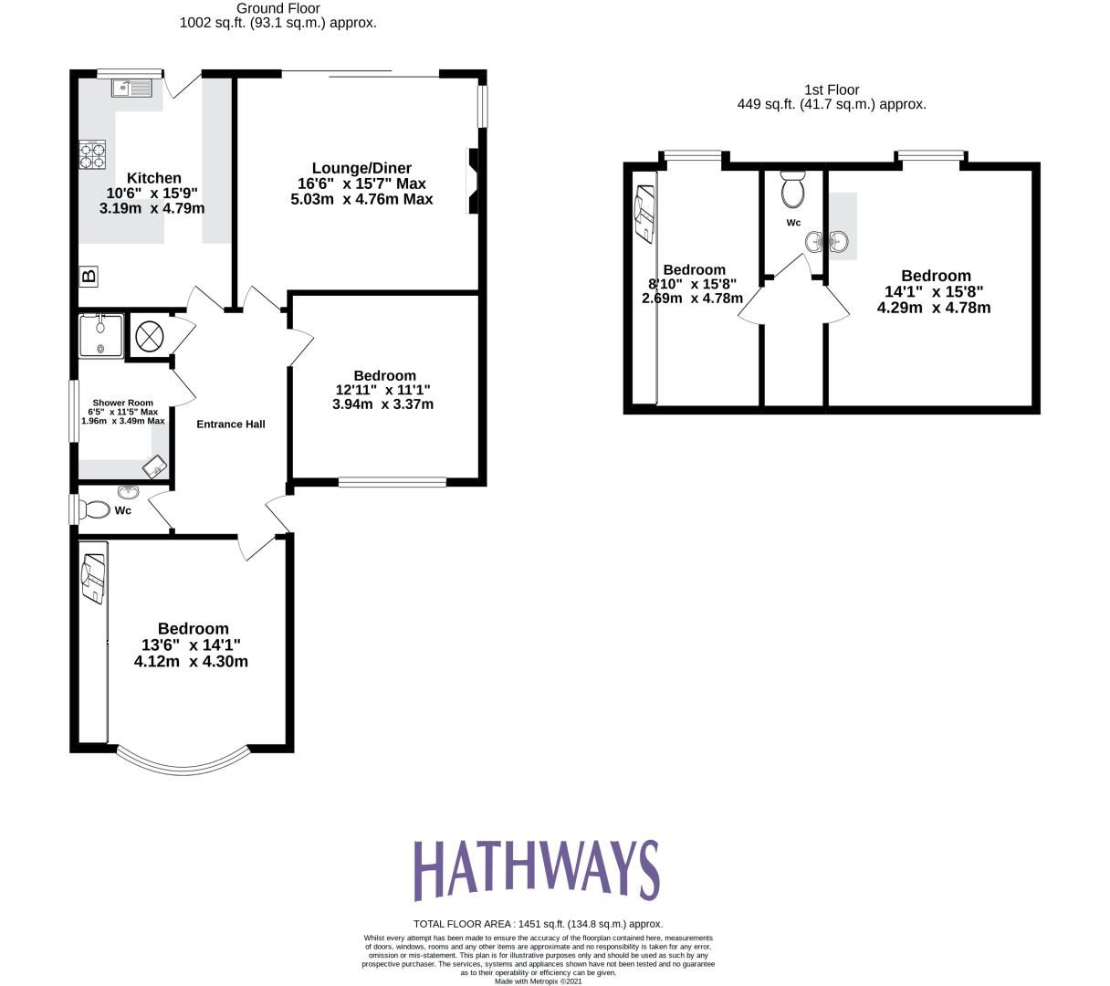 3 bed bungalow for sale in Ashford Close  - Property Image 2