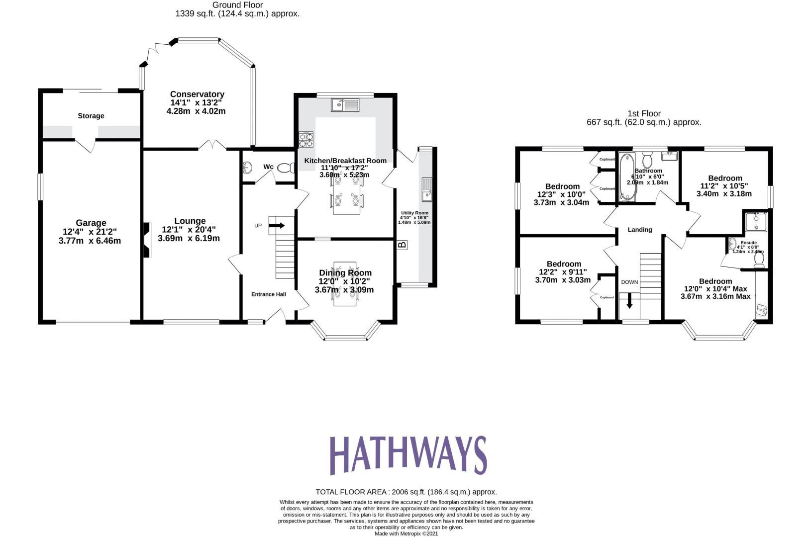 4 bed house for sale in The Avenue - Property Floorplan