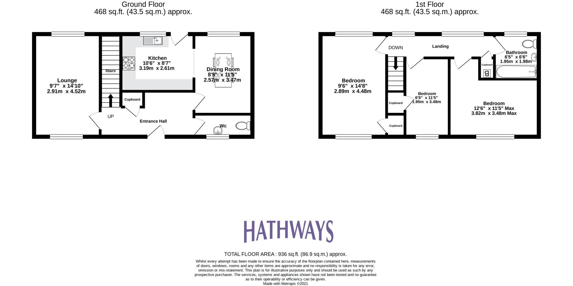3 bed house for sale in Oaksford 2