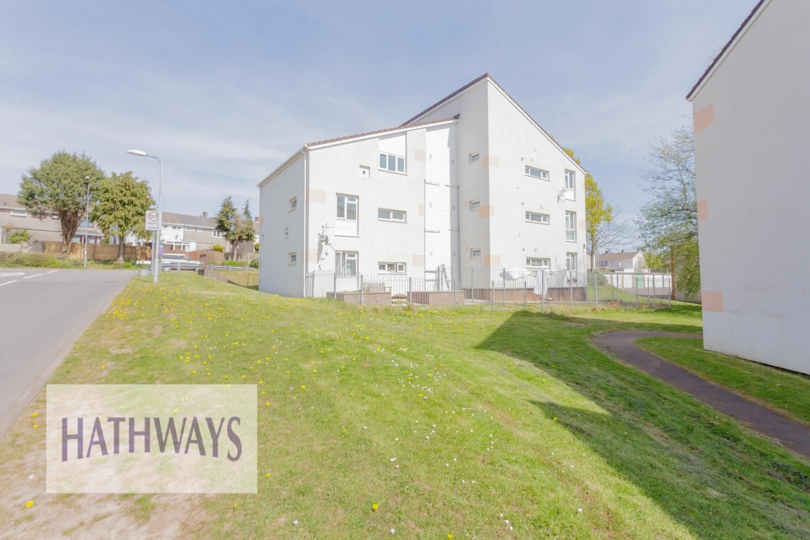 1 bed flat for sale in Drayton Court, NP44
