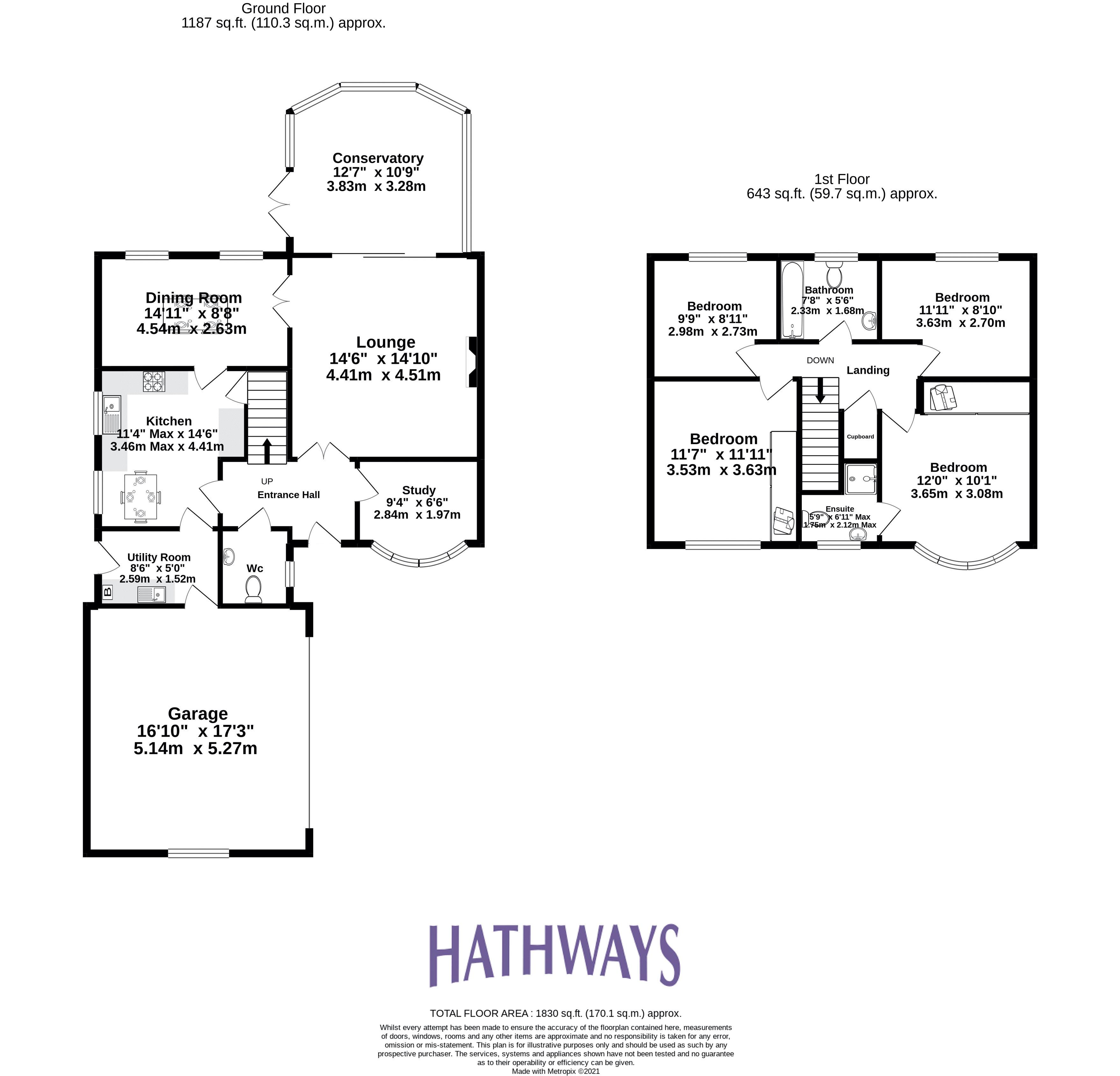 4 bed house for sale in Lansdowne Gardens - Property Floorplan