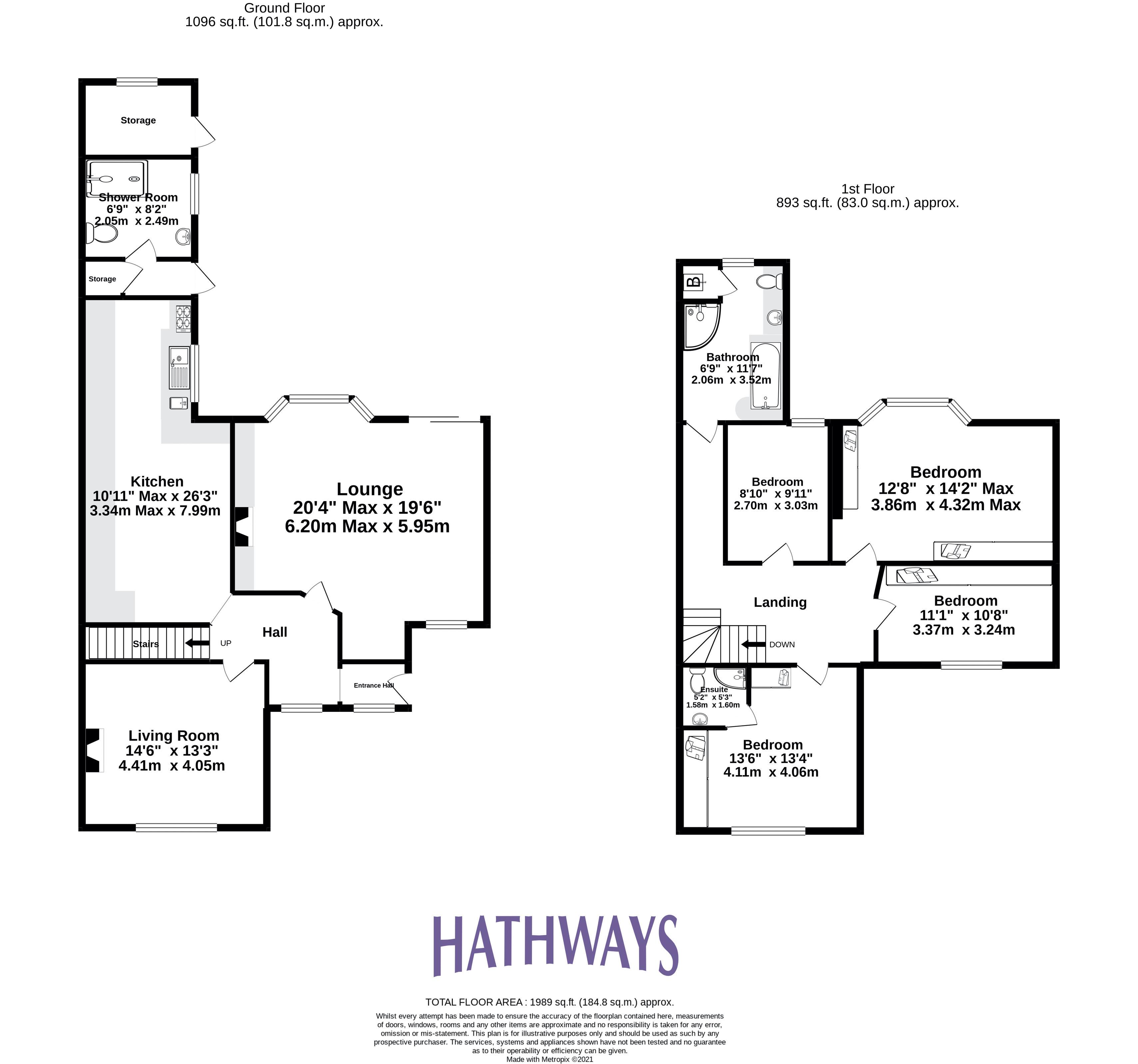 4 bed house for sale in Station Road - Property Floorplan