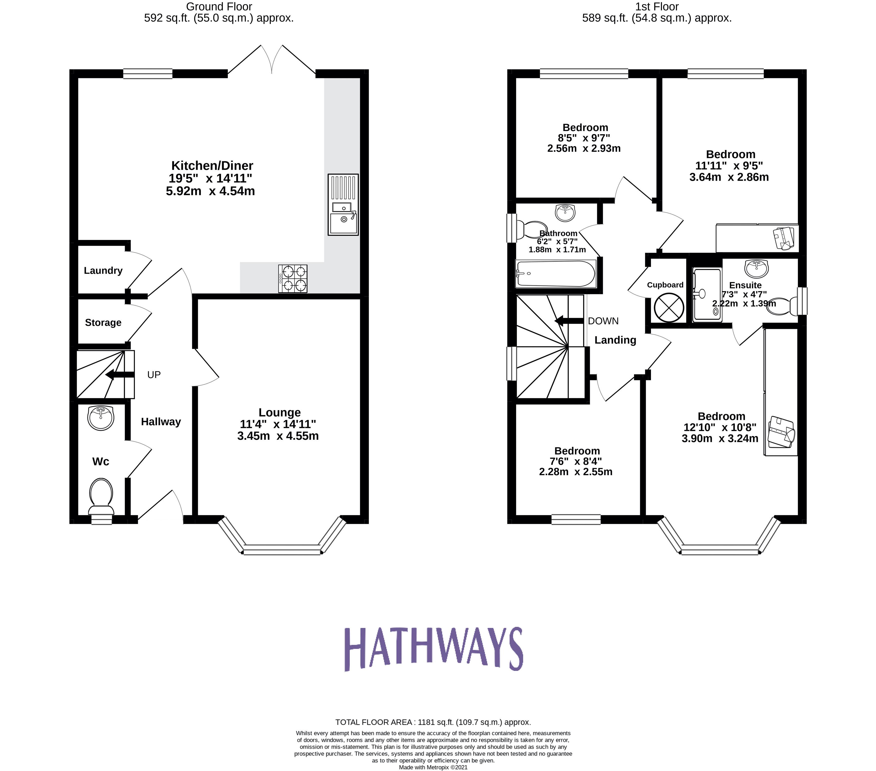 4 bed house for sale in The Maltings - Property Floorplan