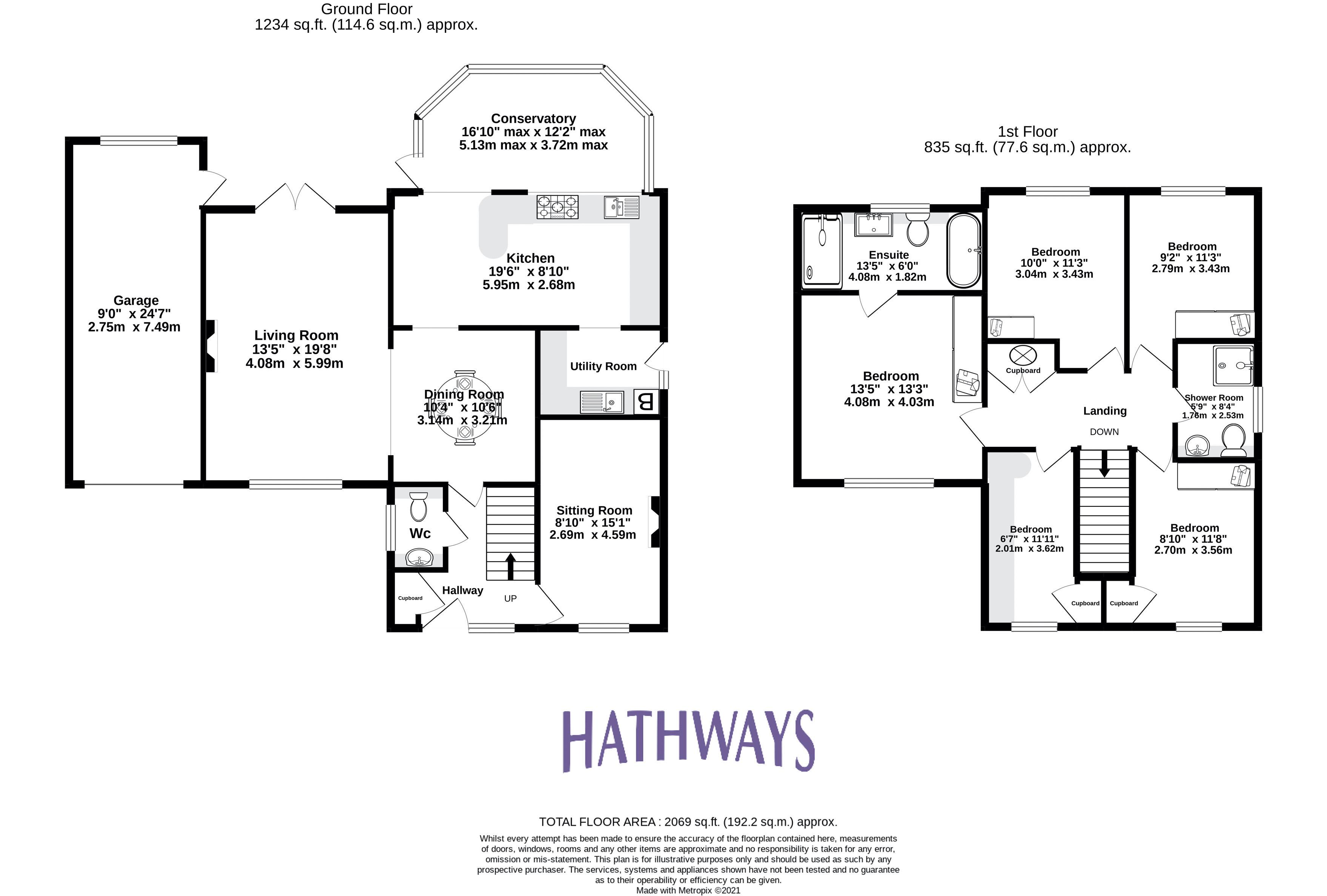 5 bed house for sale in Primrose Court - Property Floorplan