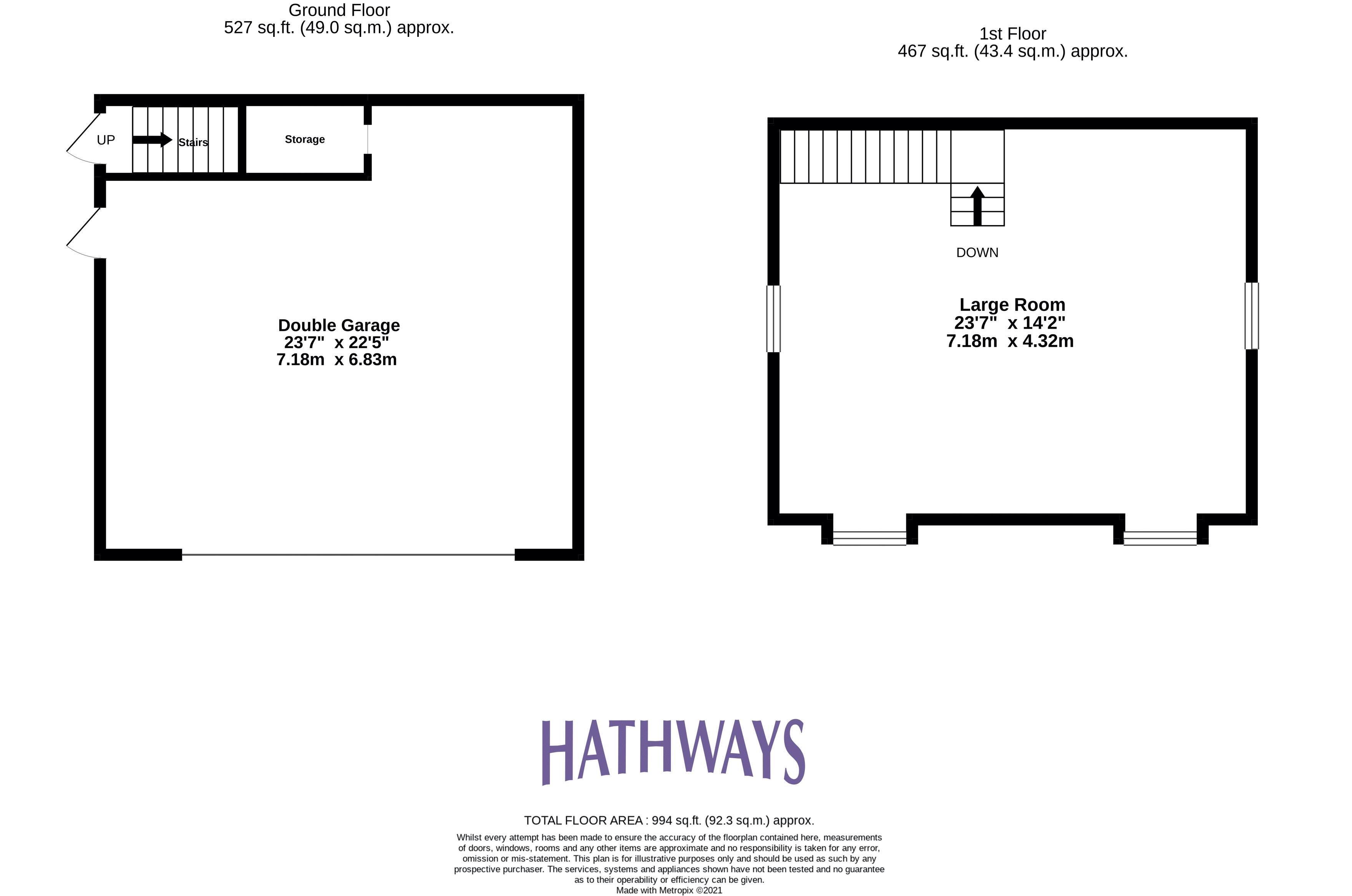 5 bed house for sale in Highfield Close - Property Floorplan