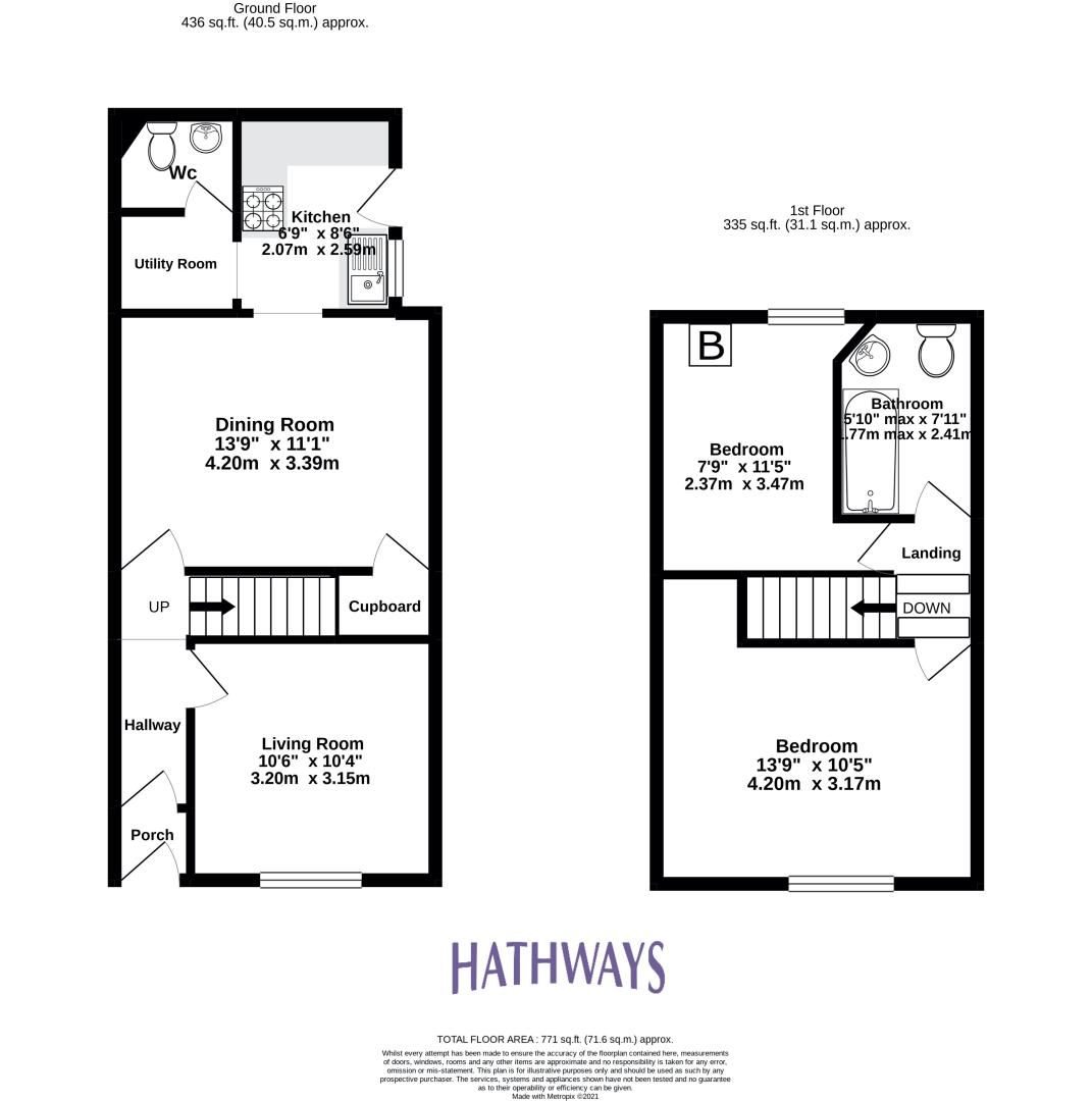 2 bed house for sale in Aberbeeg Road  - Property Image 2