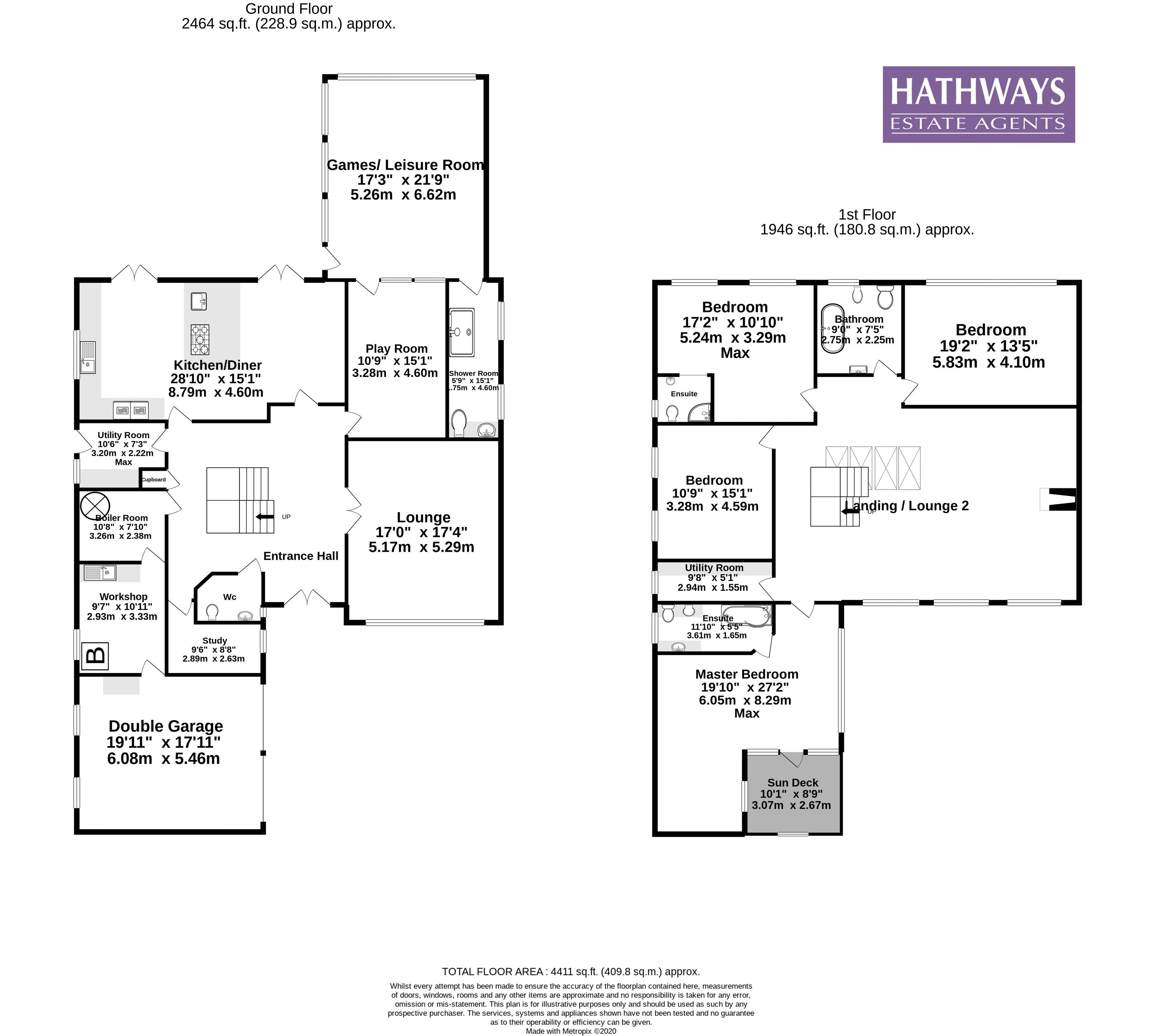 4 bed house for sale in 36 The Alders - Property Floorplan