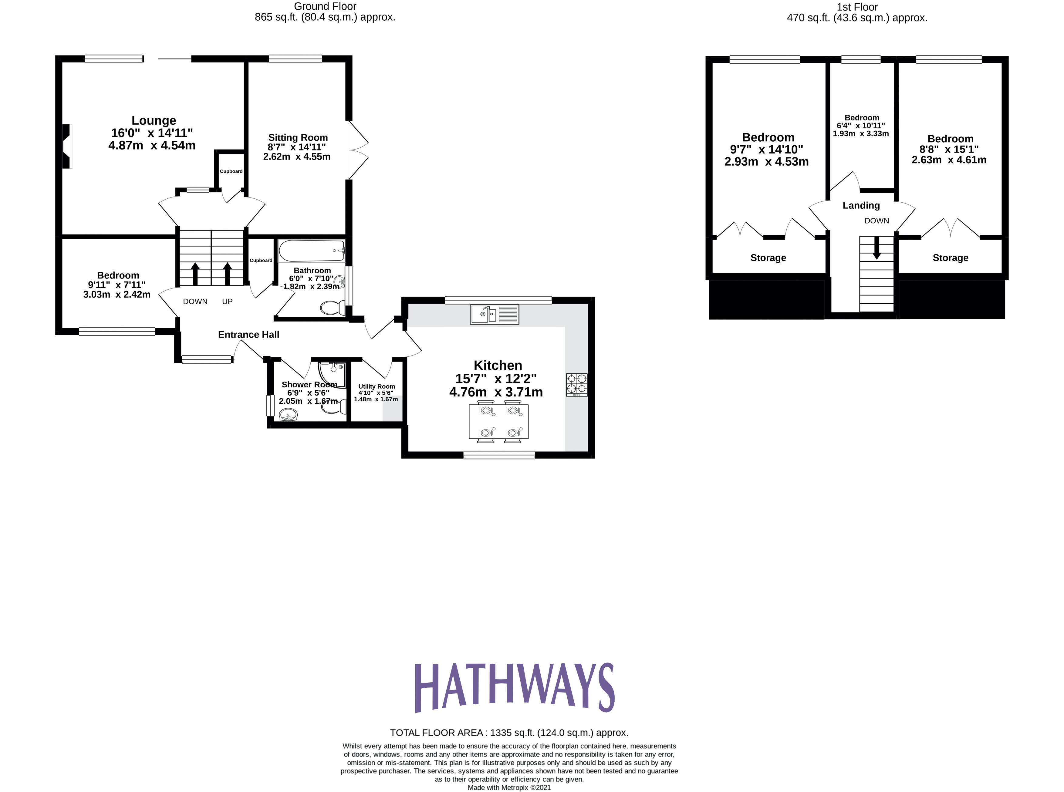 4 bed house for sale in Greenfield - Property Floorplan