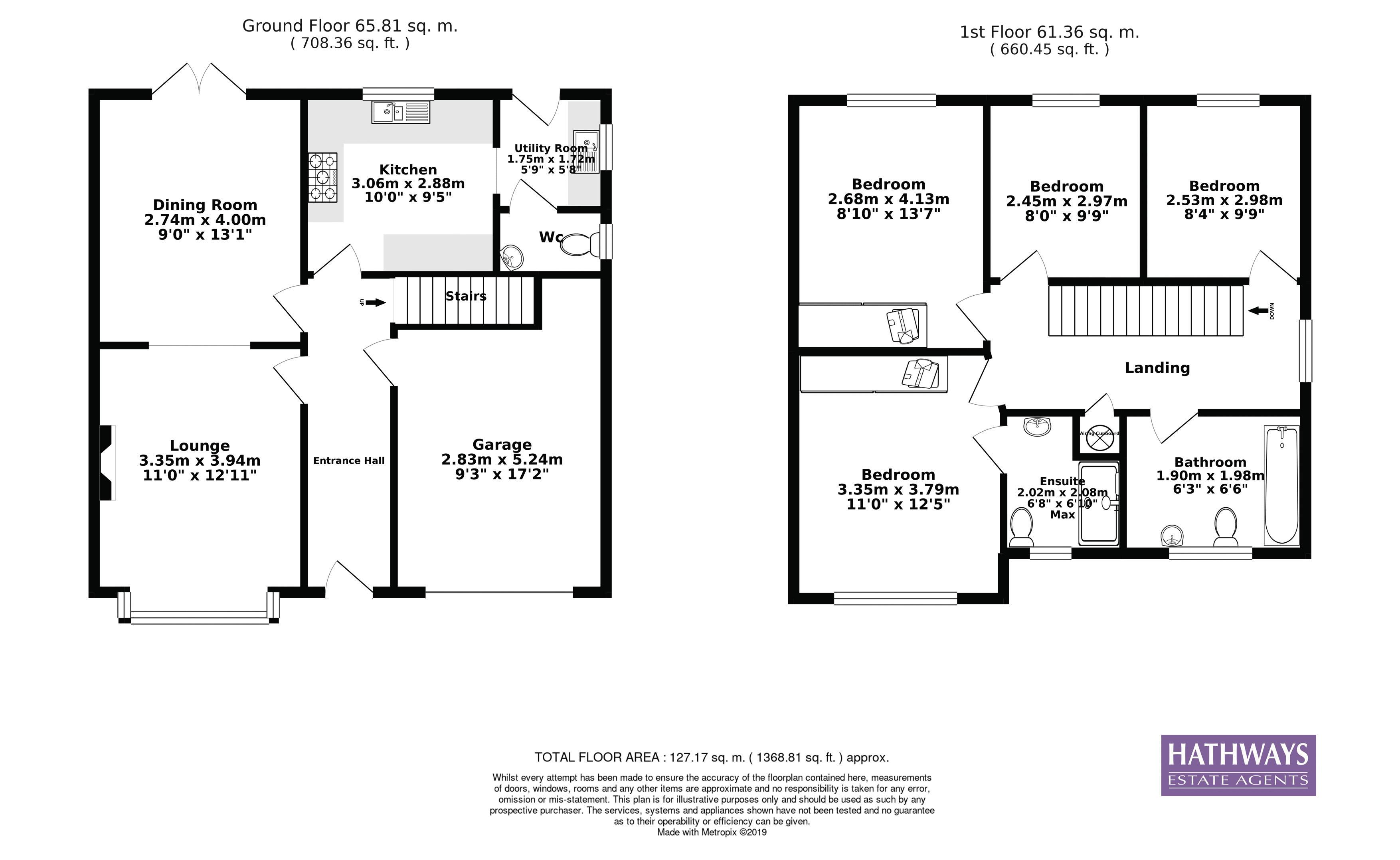 4 bed house for sale in Ladyhill Road - Property Floorplan