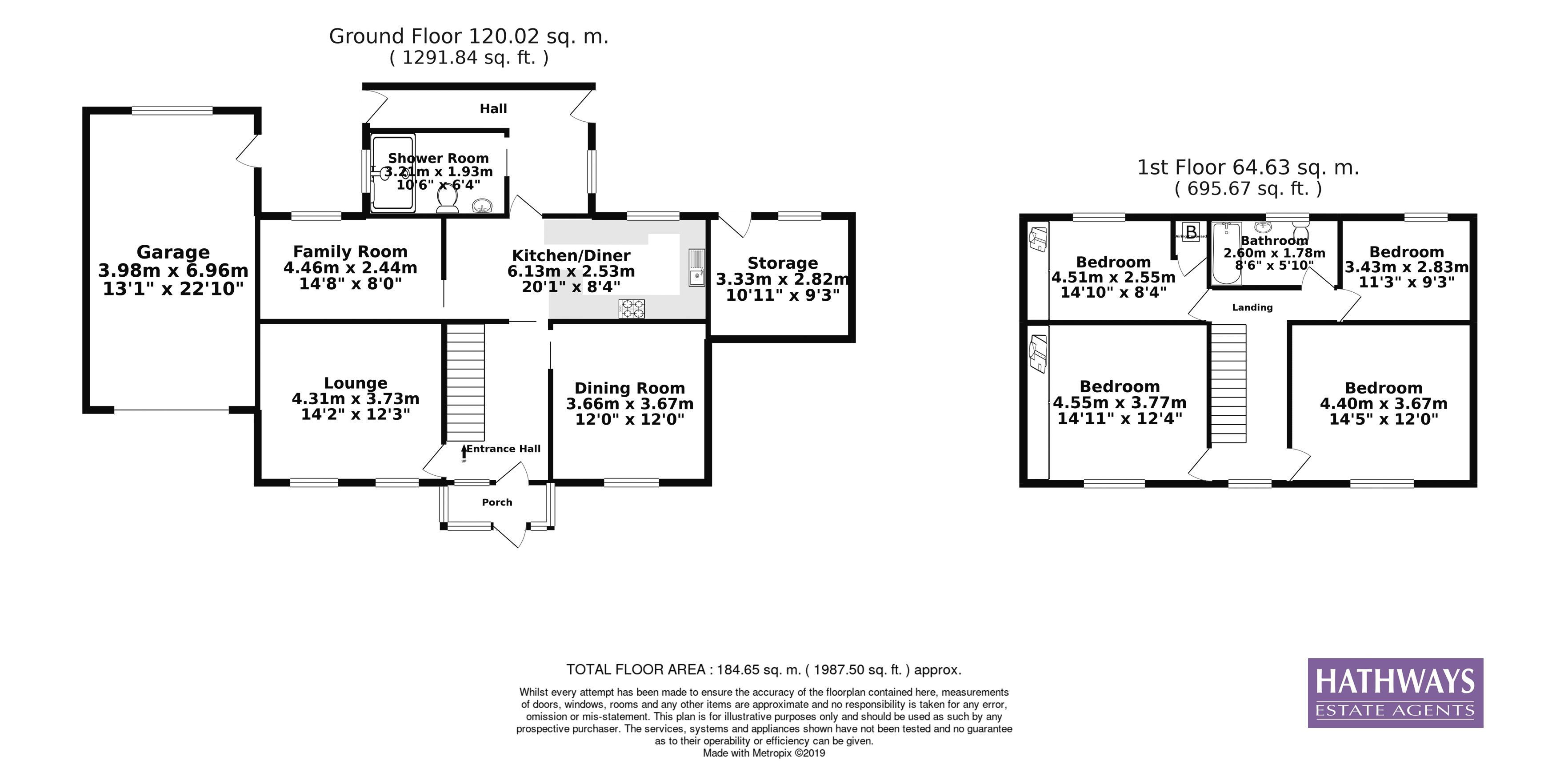 4 bed house for sale in Richmond Place - Property Floorplan