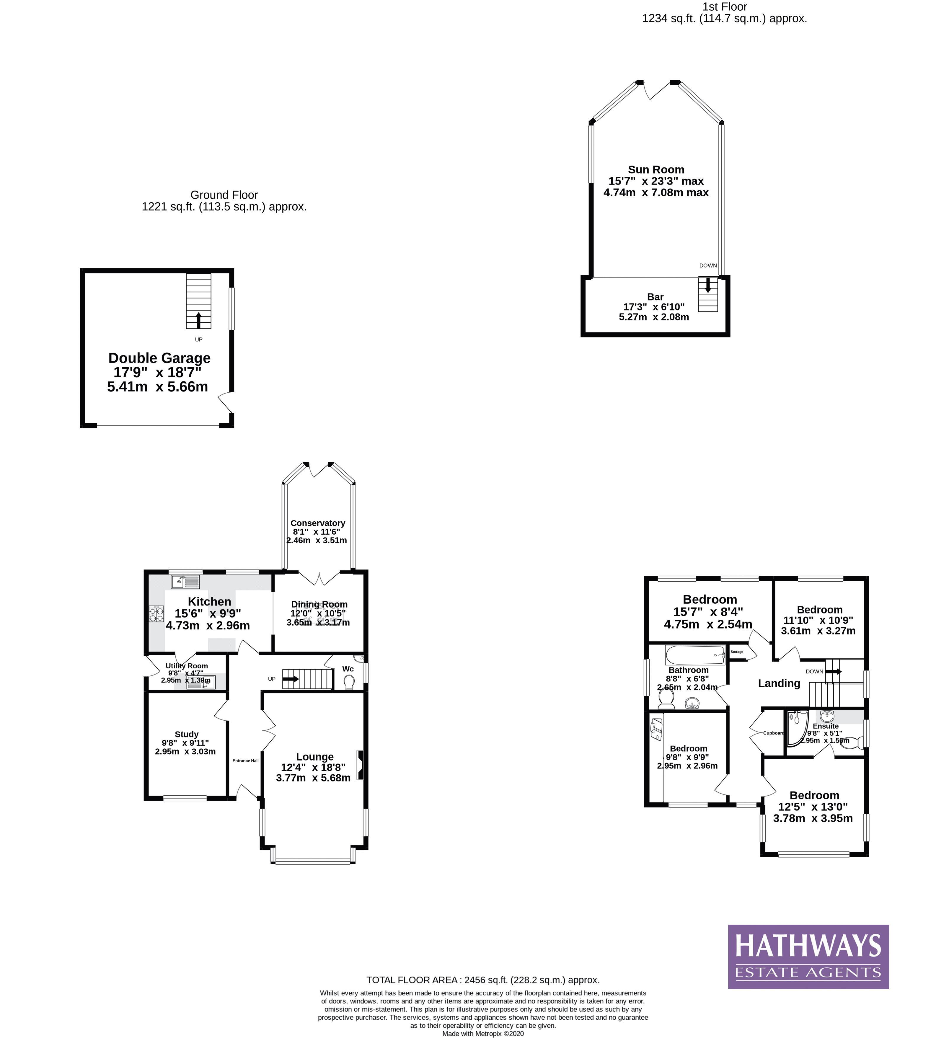 4 bed house for sale in Harpers Road - Property Floorplan