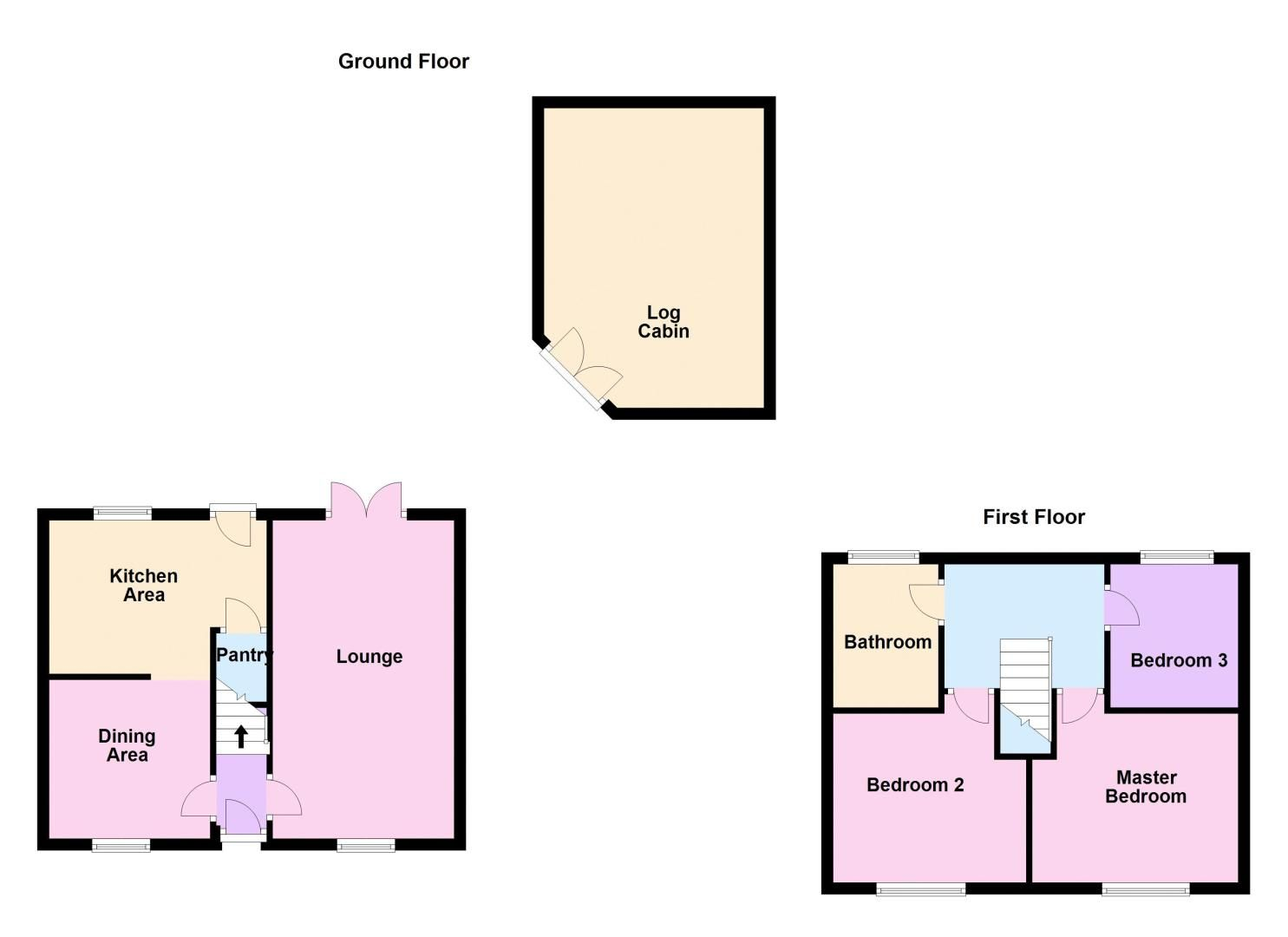 3 bed house for sale in Swallowfield - Property Floorplan