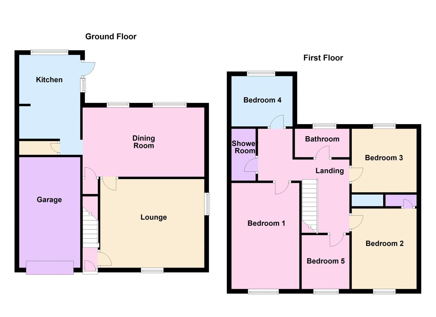 5 bed  for sale in Wisbech Road - Property Floorplan