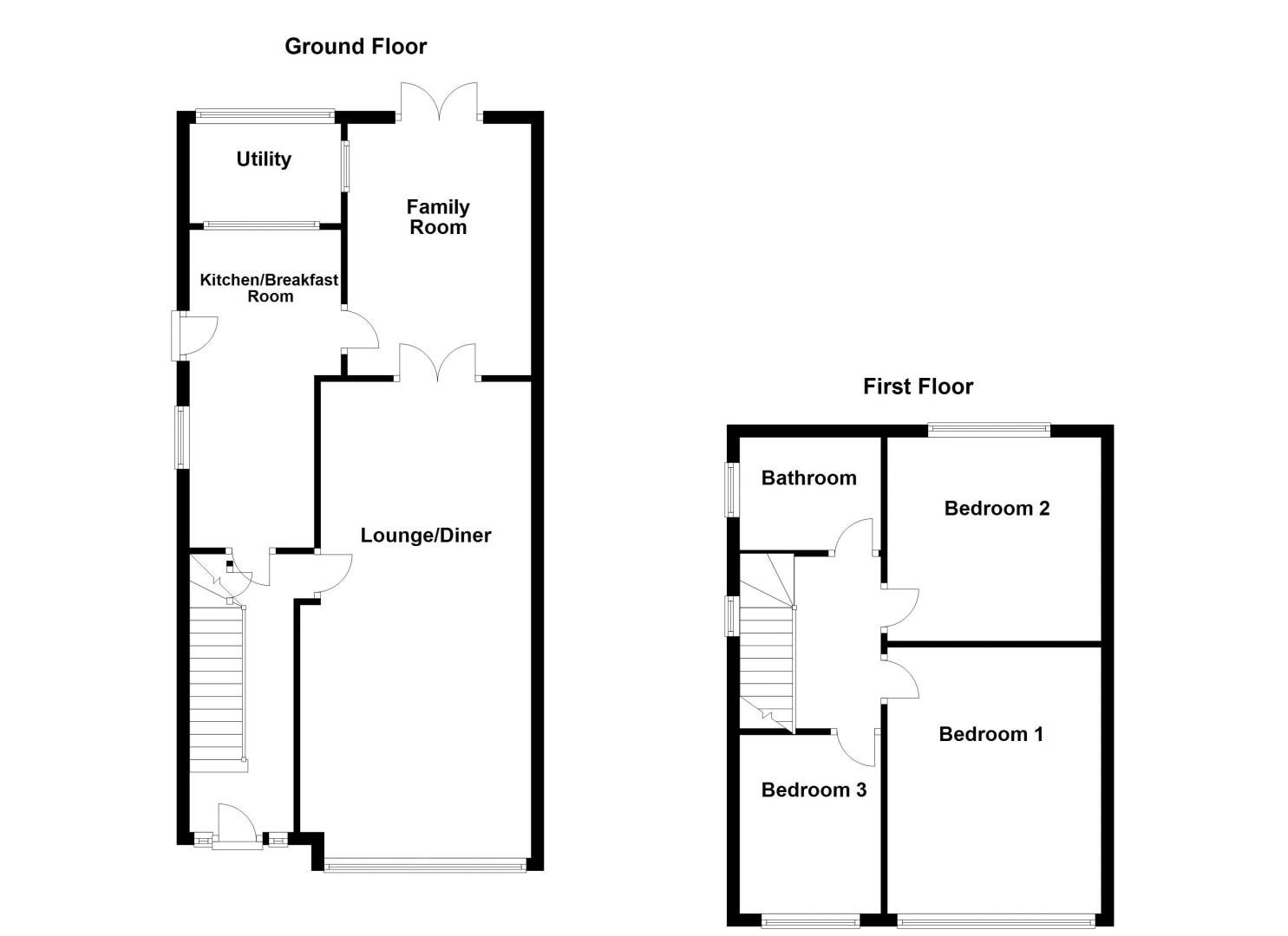 3 bed house for sale in Rayner Avenue - Property Floorplan