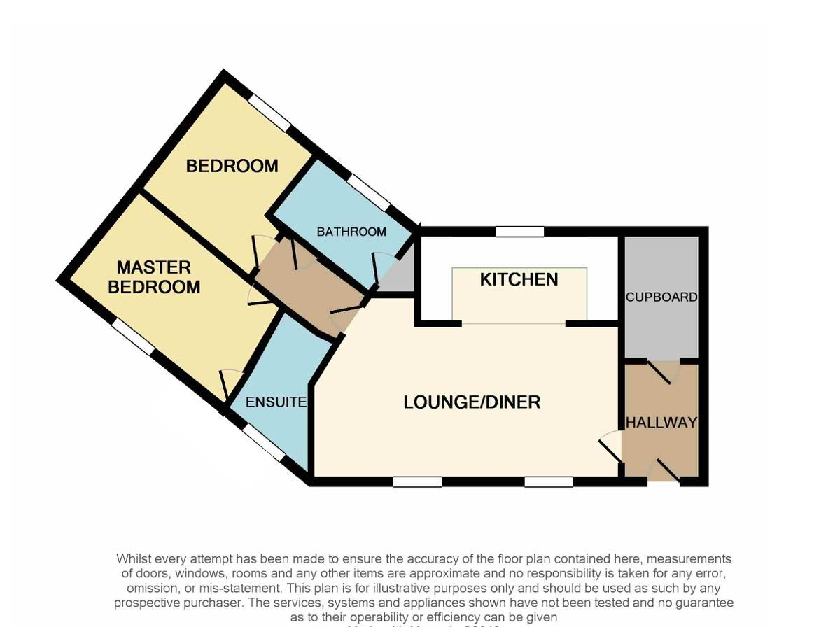 2 bed flat to rent in Verde Close - Property Floorplan