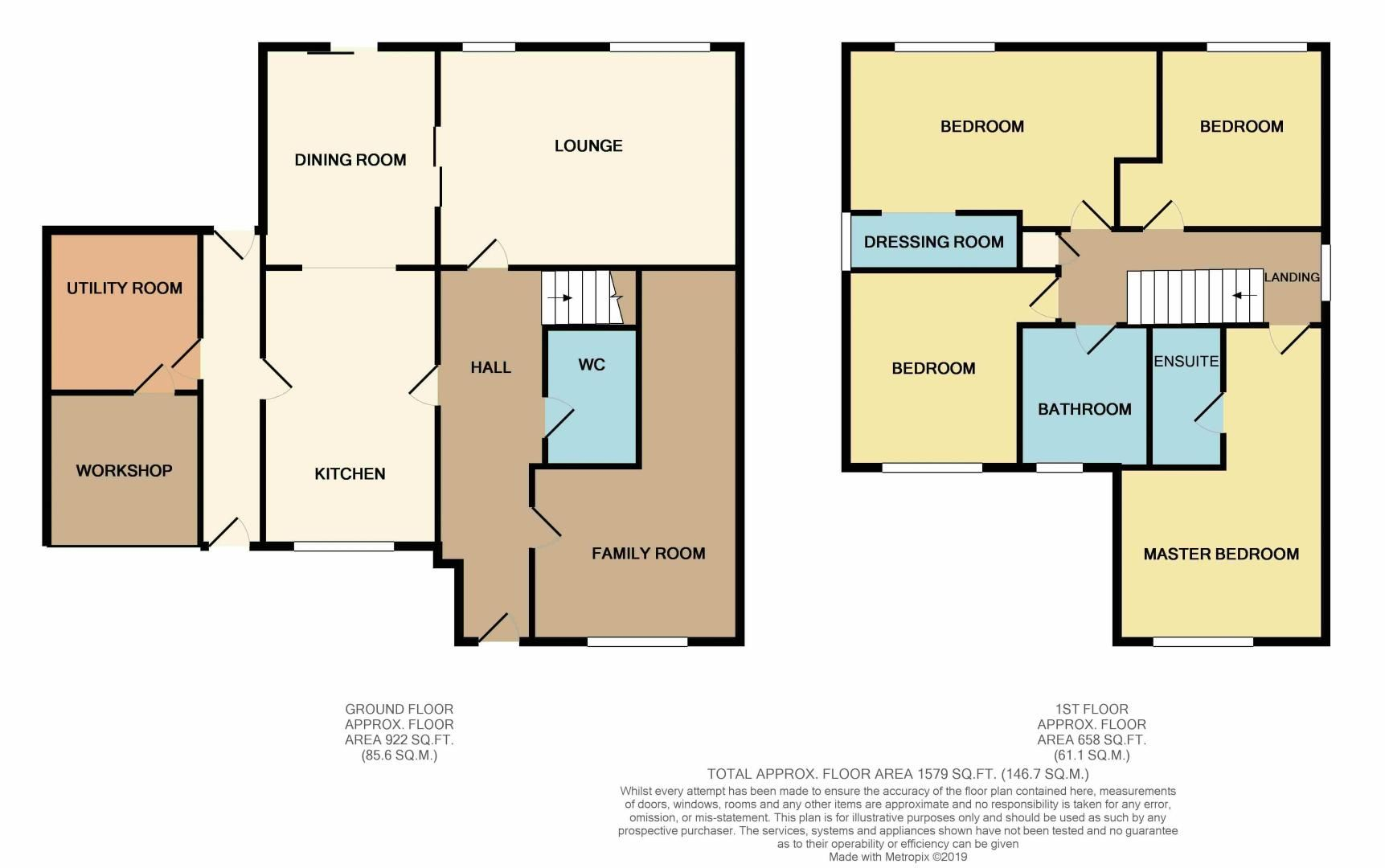 4 bed house for sale in Beauvoir Place - Property Floorplan