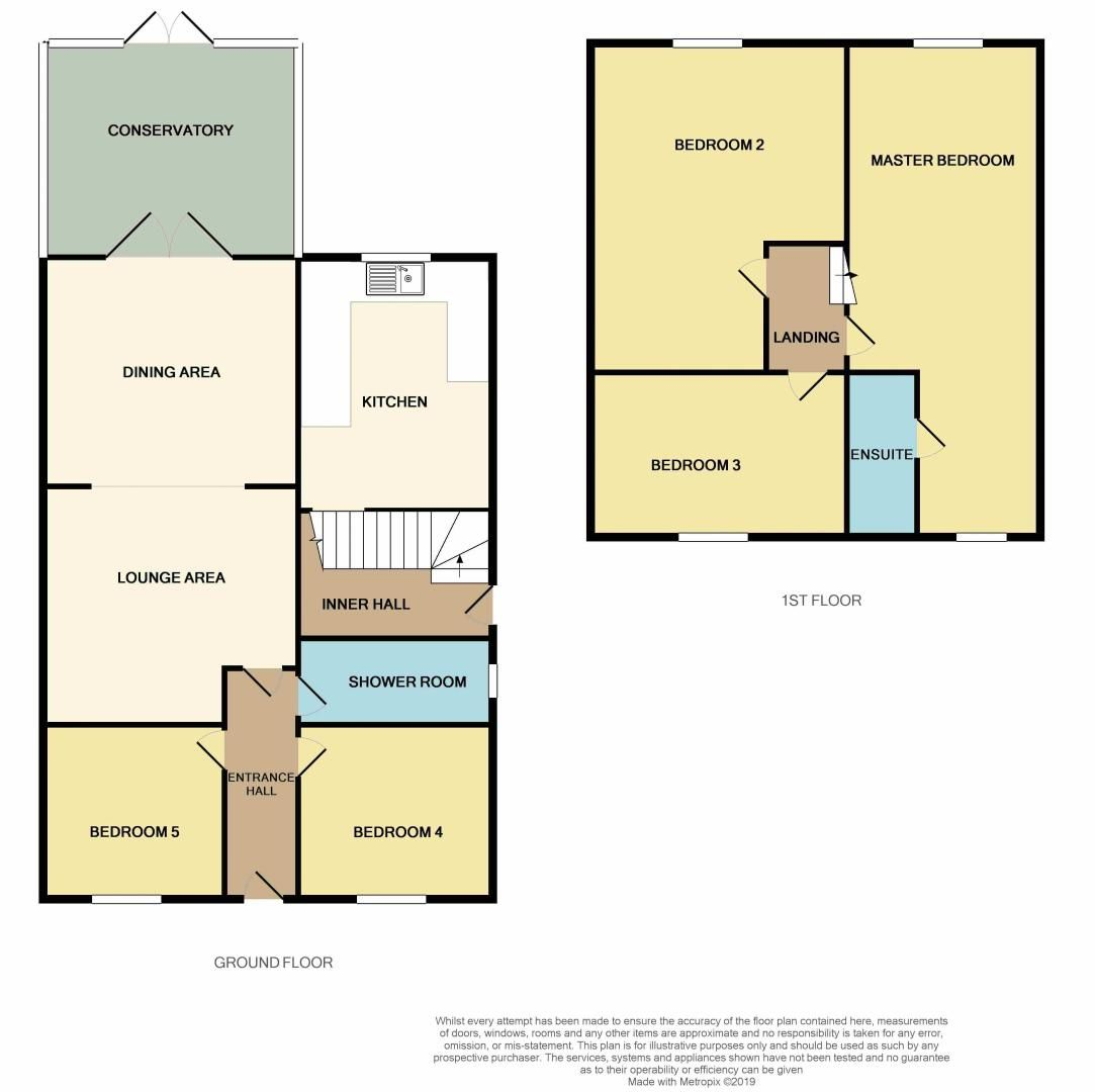 5 bed house for sale in Peterborough Road - Property Floorplan
