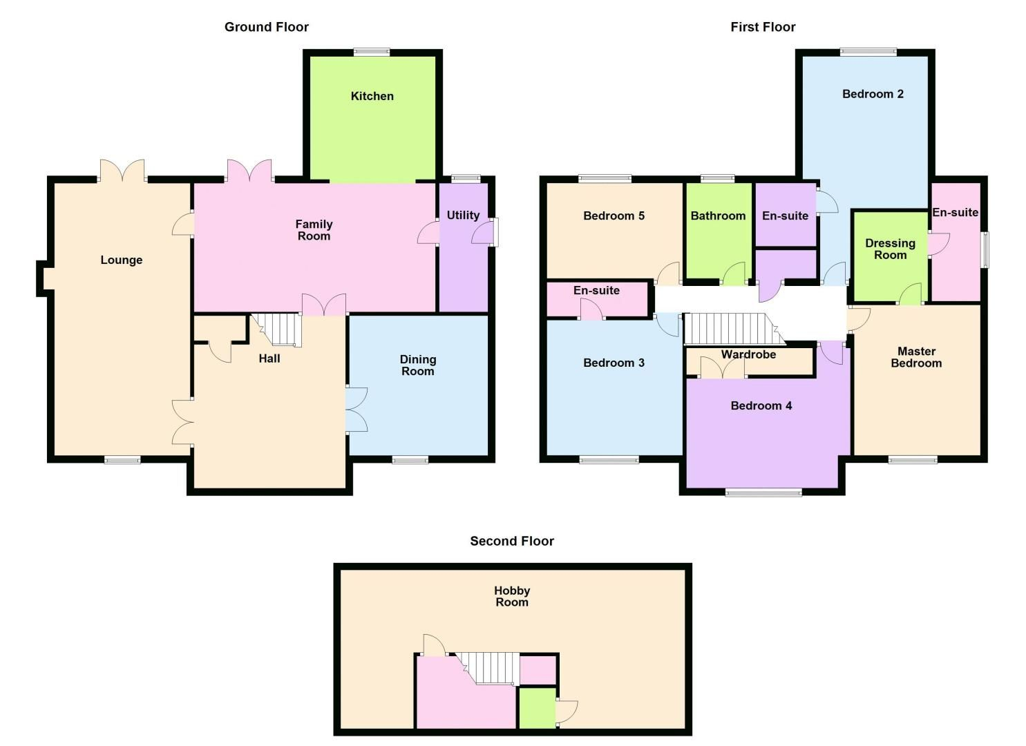 6 bed house for sale in Shackleton Way - Property Floorplan