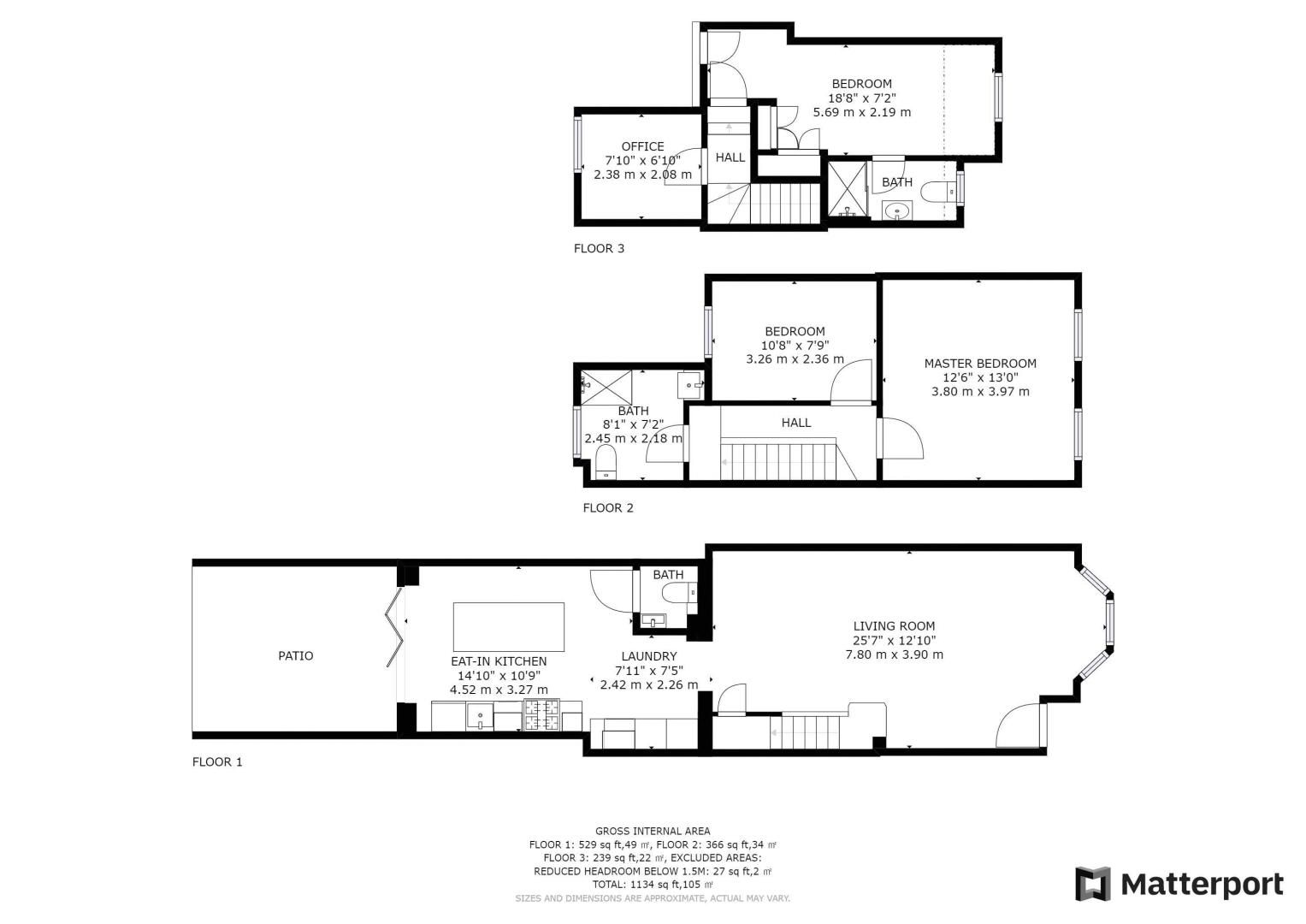 4 bed house for sale in Edward Road - Property Floorplan
