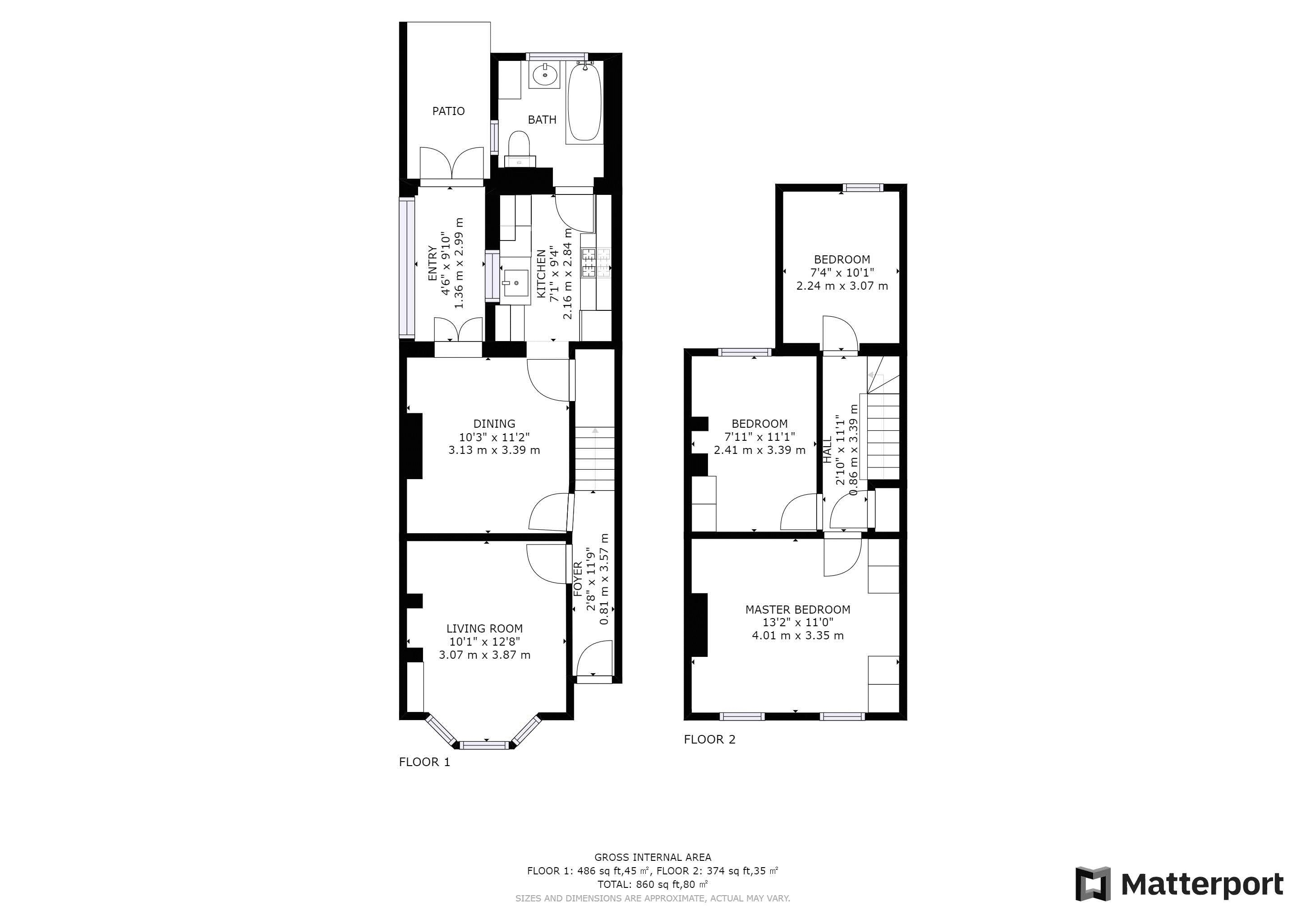 3 bed house for sale in Rymer Road - Property Floorplan