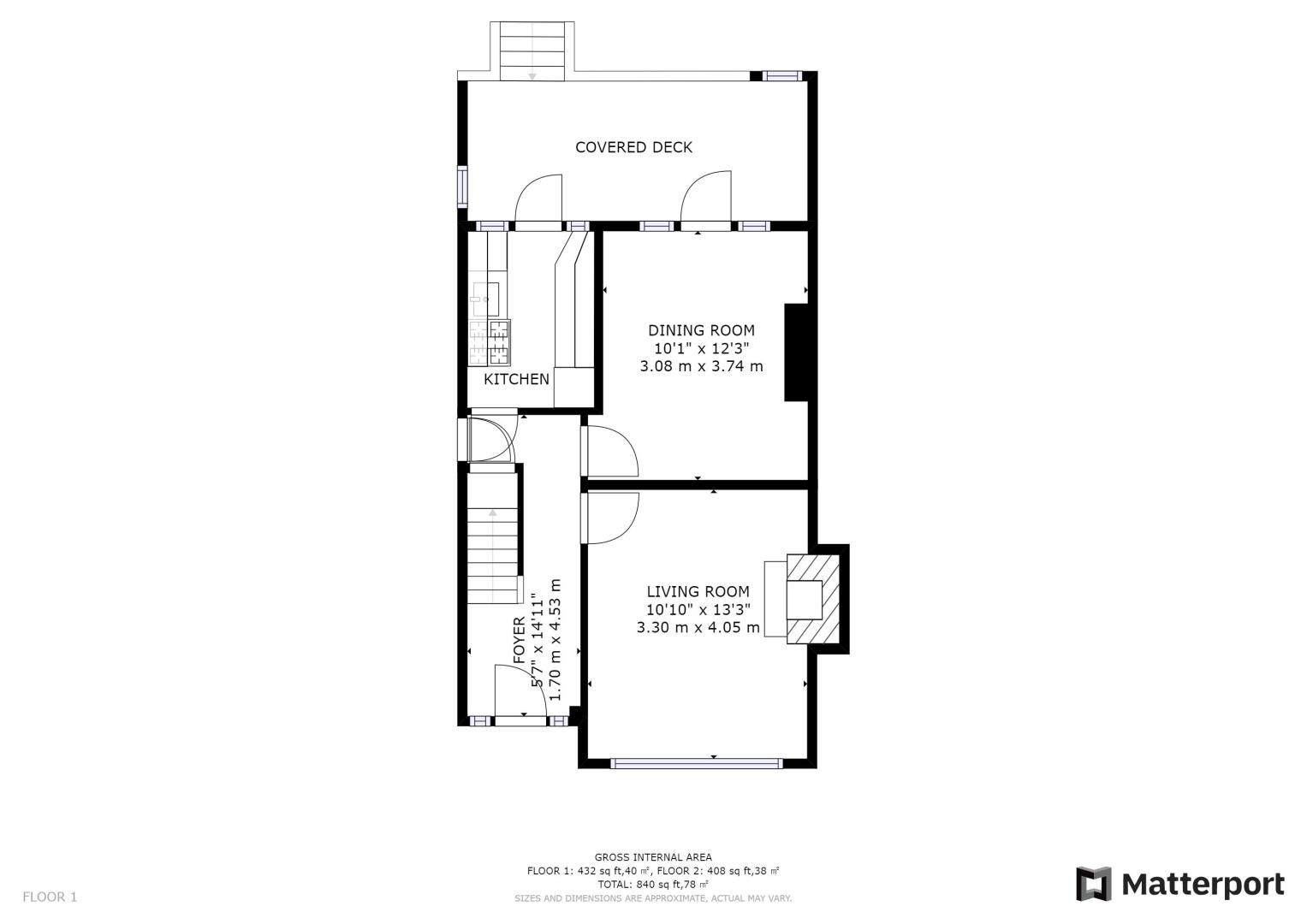 3 bed house for sale in Pitt Road - Property Floorplan