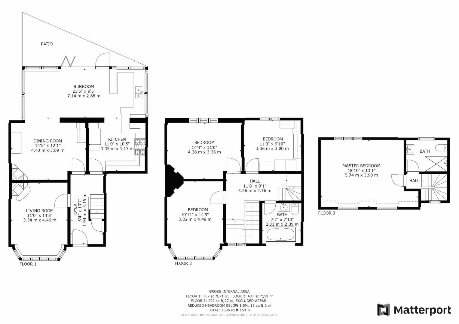 4 bed house for sale in Cypress Road - Property Floorplan