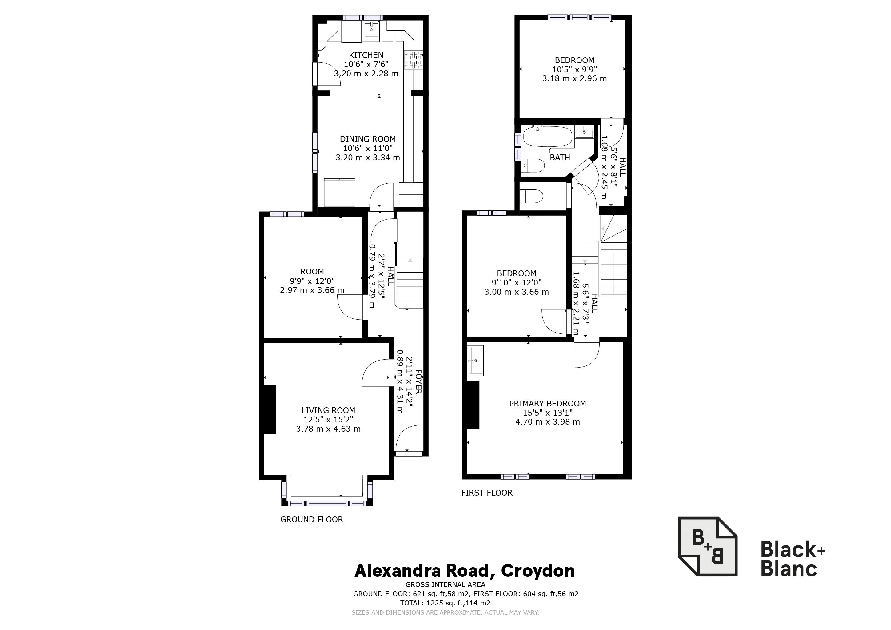 3 bed house for sale in Alexandra Road - Property Floorplan